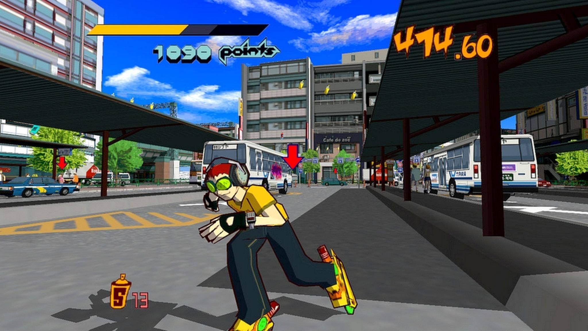 """""""jet Set Radio"""" war 2000 ein wegweisendes Sega-Spiel."""