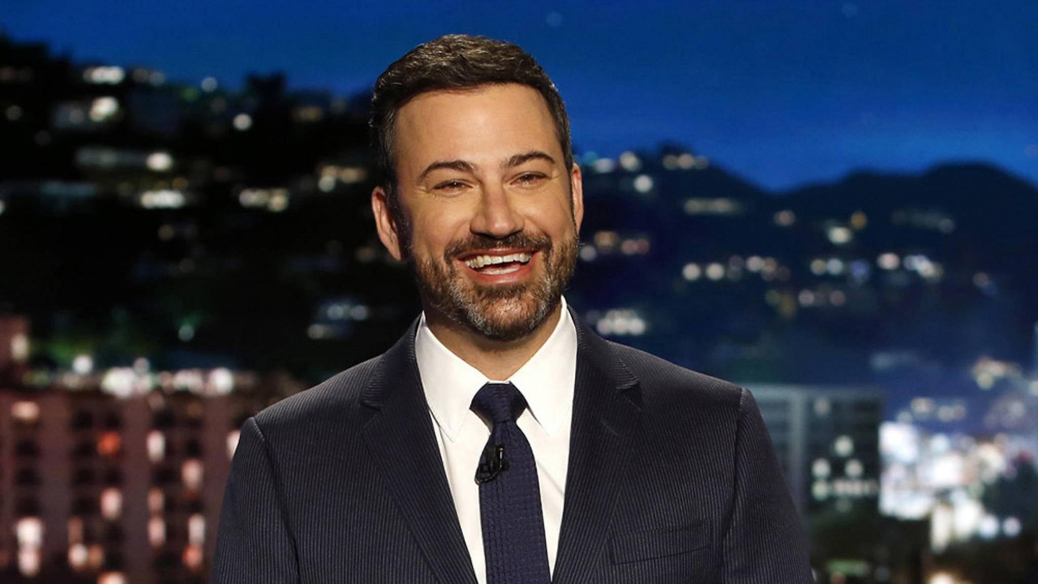Jimmy Kimmel hat als Host der Oscars überzeugt – und darf 2018 wieder ran.