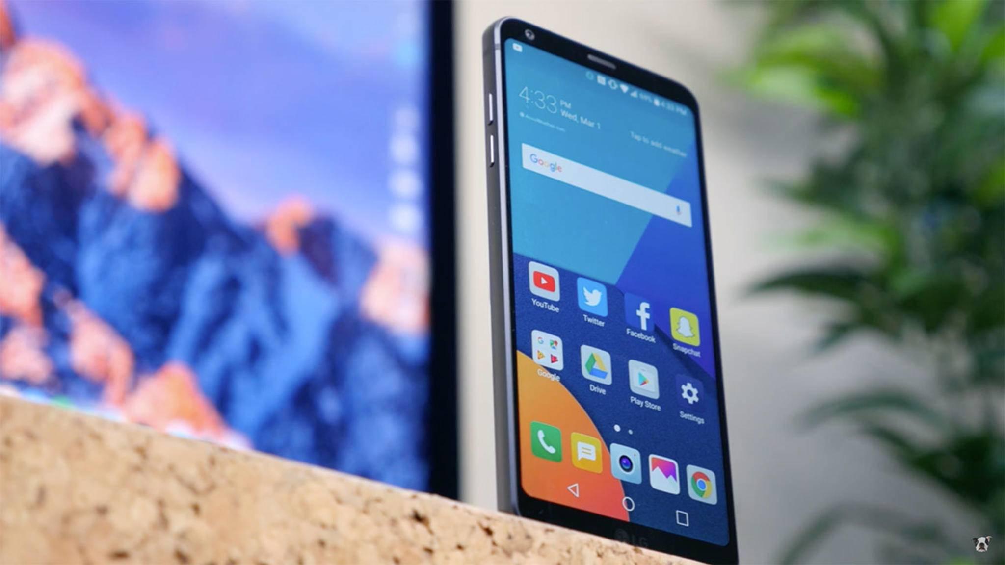 Das LG G6 erhält endlich ein Upgrade auf Android Oreo.