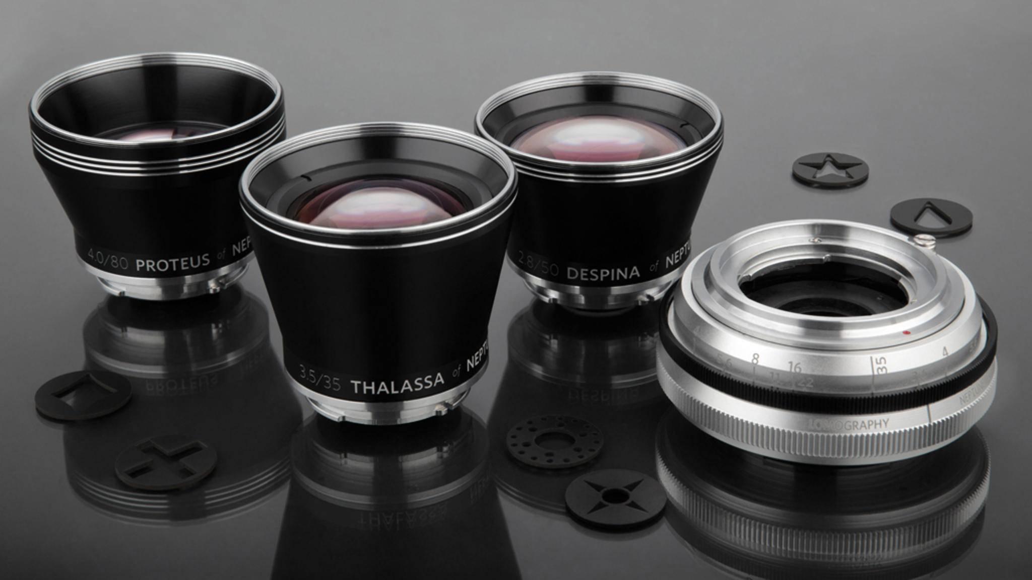 Schnell austauschbar, hochwertig und an jede Kamera adaptierbar – so bewirbt Lomography sein neues Linsen-System auf Kickstarter.