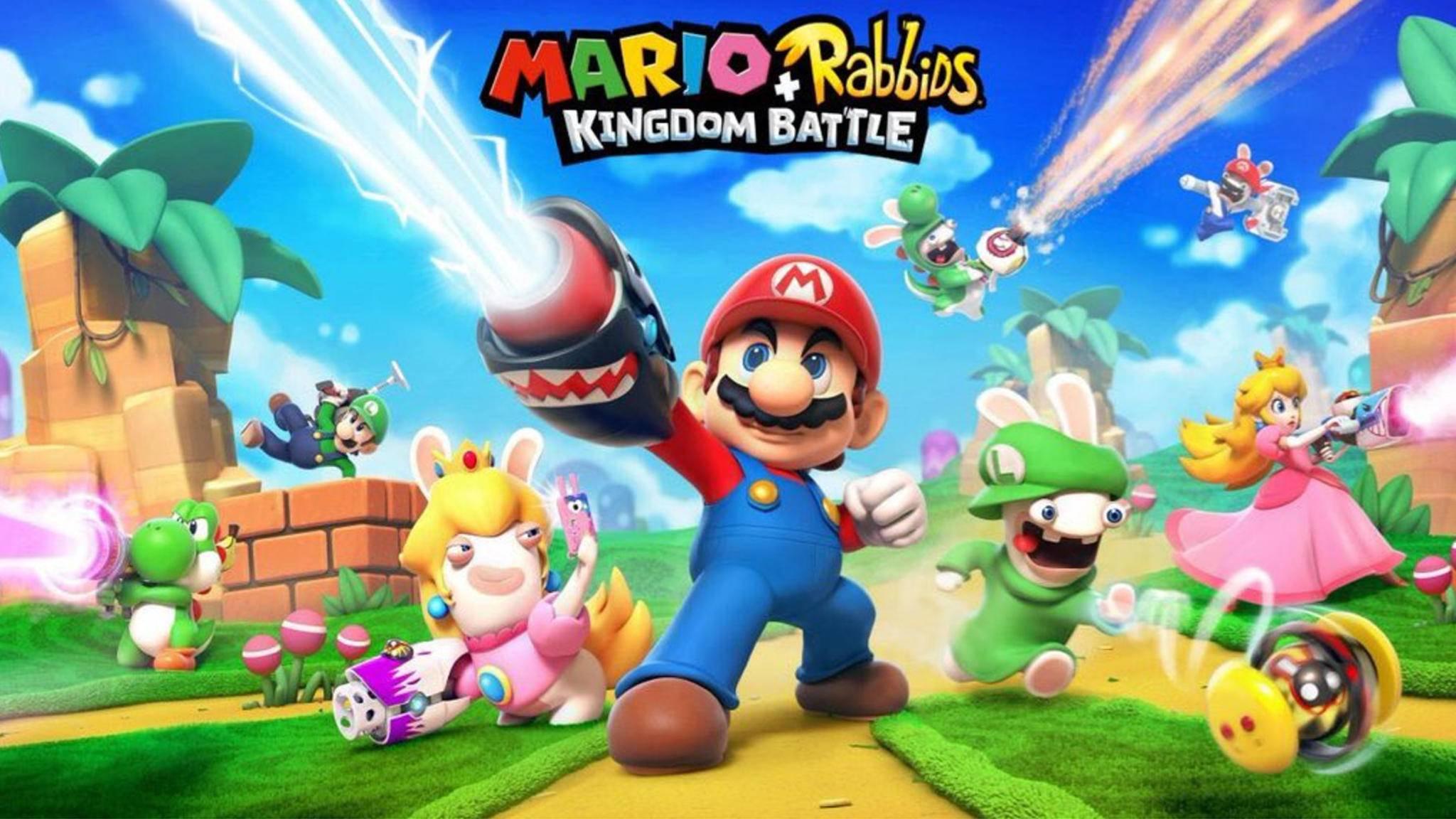 Super Mario und die Rabbids erobern die Nintendo Switch.