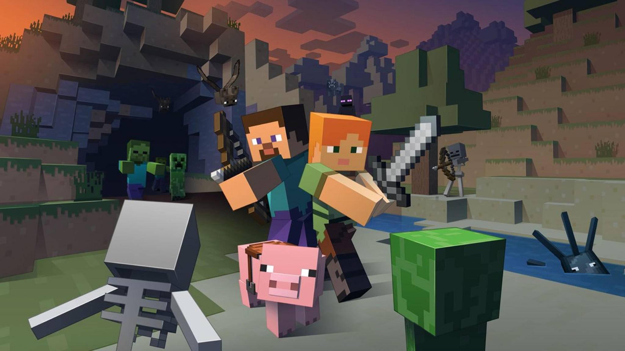 """Es gab einen Virenangriff auf """"Minecraft""""."""