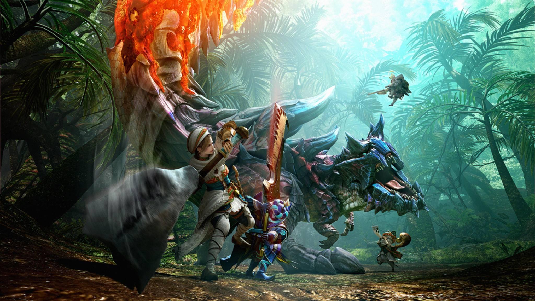 """Handheld-Hit: """"Monster Hunter: Generations"""" erschien für Nintendo 3Ds und erst kürzlich auch für Nintendo Switch."""