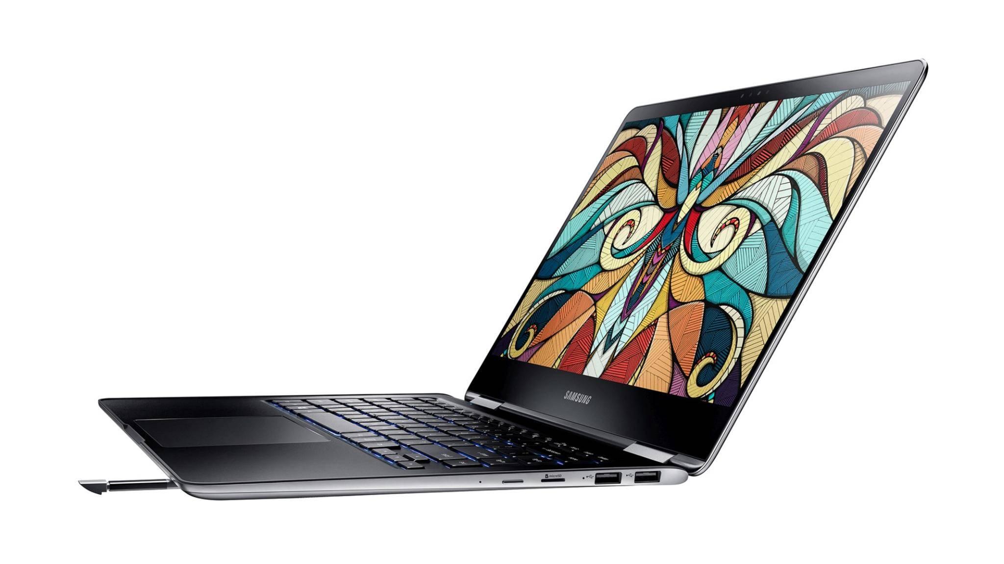 Das Notebook 9 Pro von Samsung bringt einen S-Pen mit.