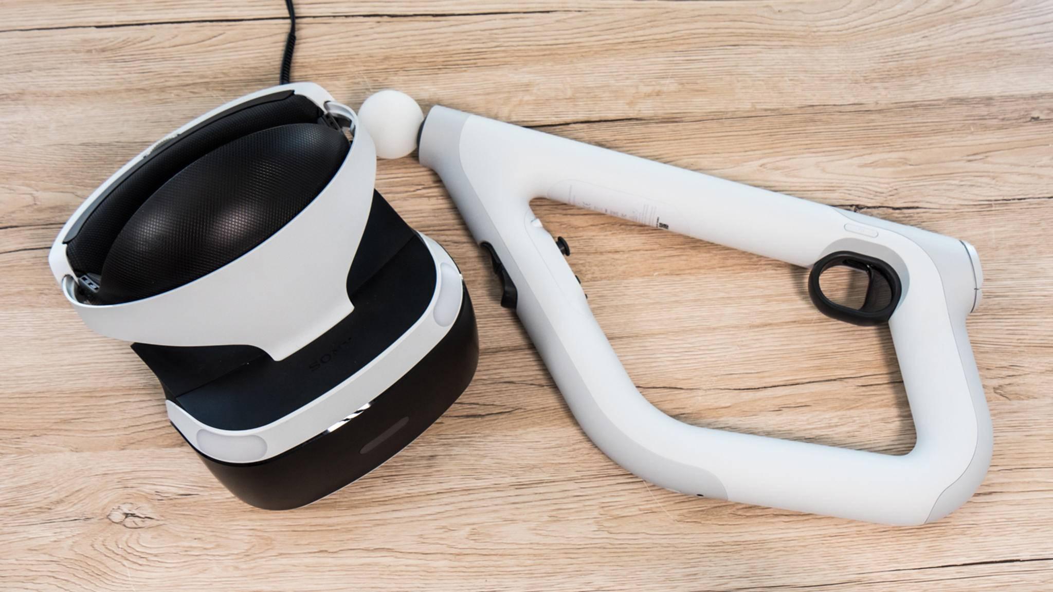 Hier sind alle Games, die mit dem PlayStation-VR-Ziel-Controller verwendet werden können.