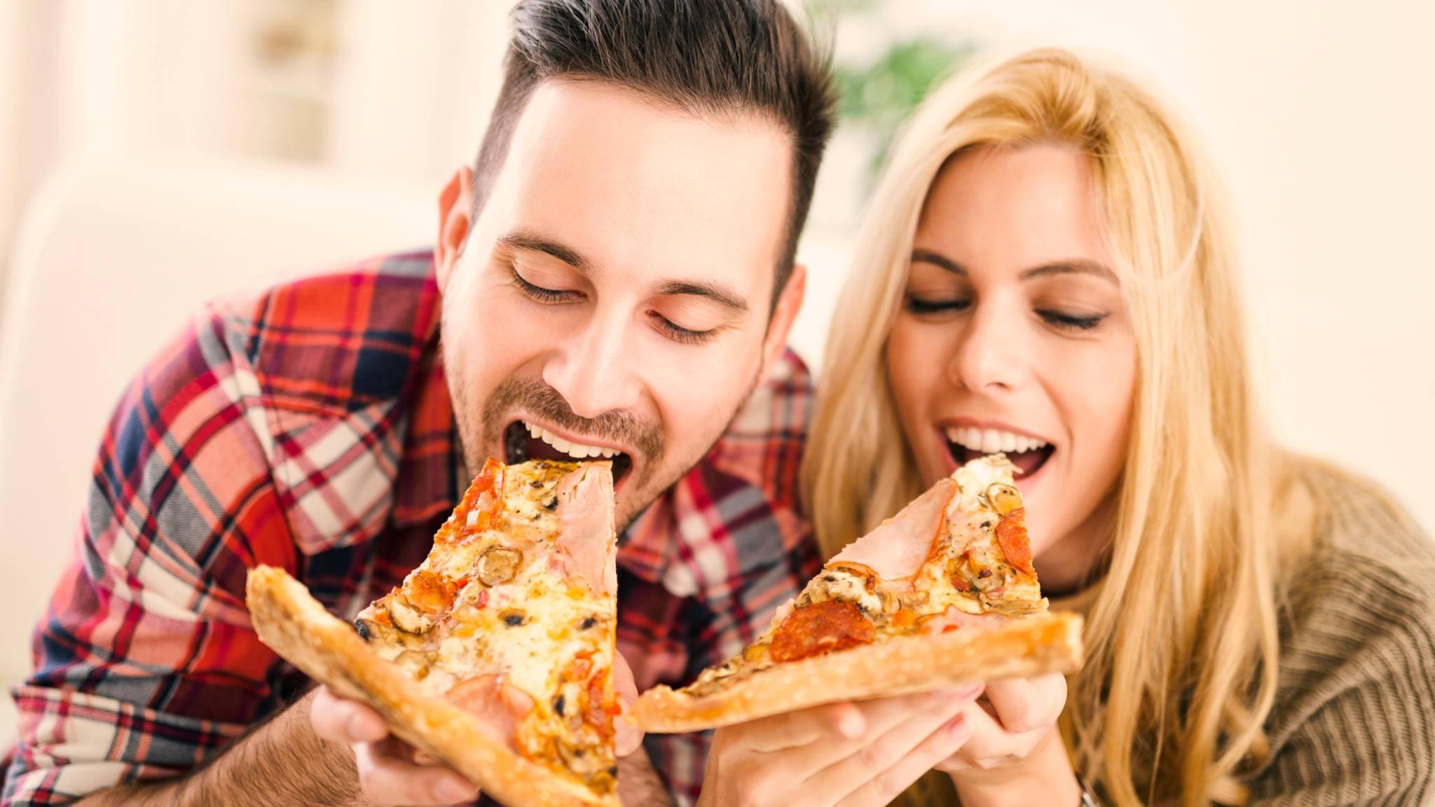 Pizza macht nicht nur beim Essen Freude, wie ein soziales Experiment beweist.