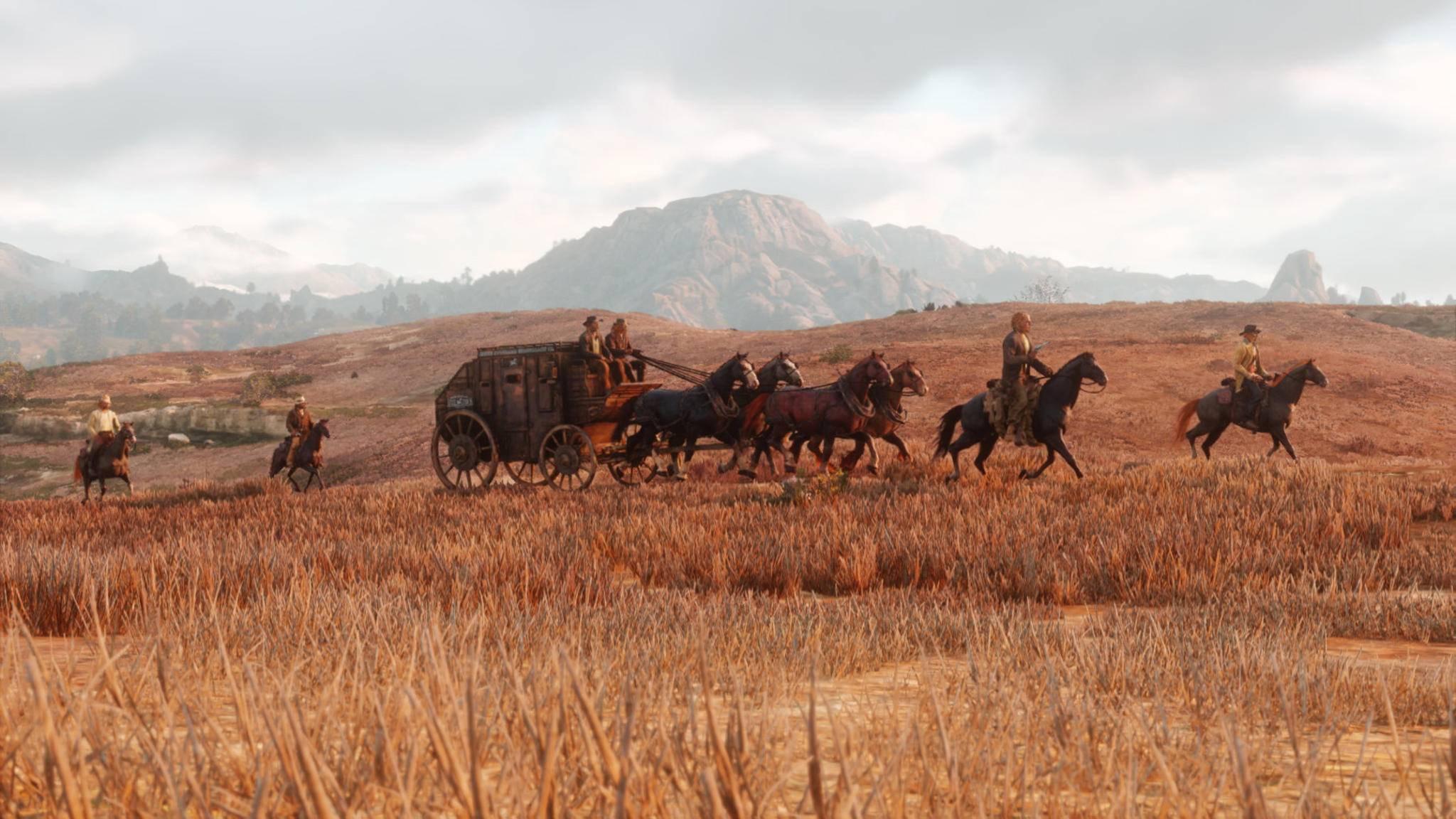 """Ein schickes neues Pferd in """"Red Dead Redemption 2"""" könnte eventuell echtes Geld kosten."""