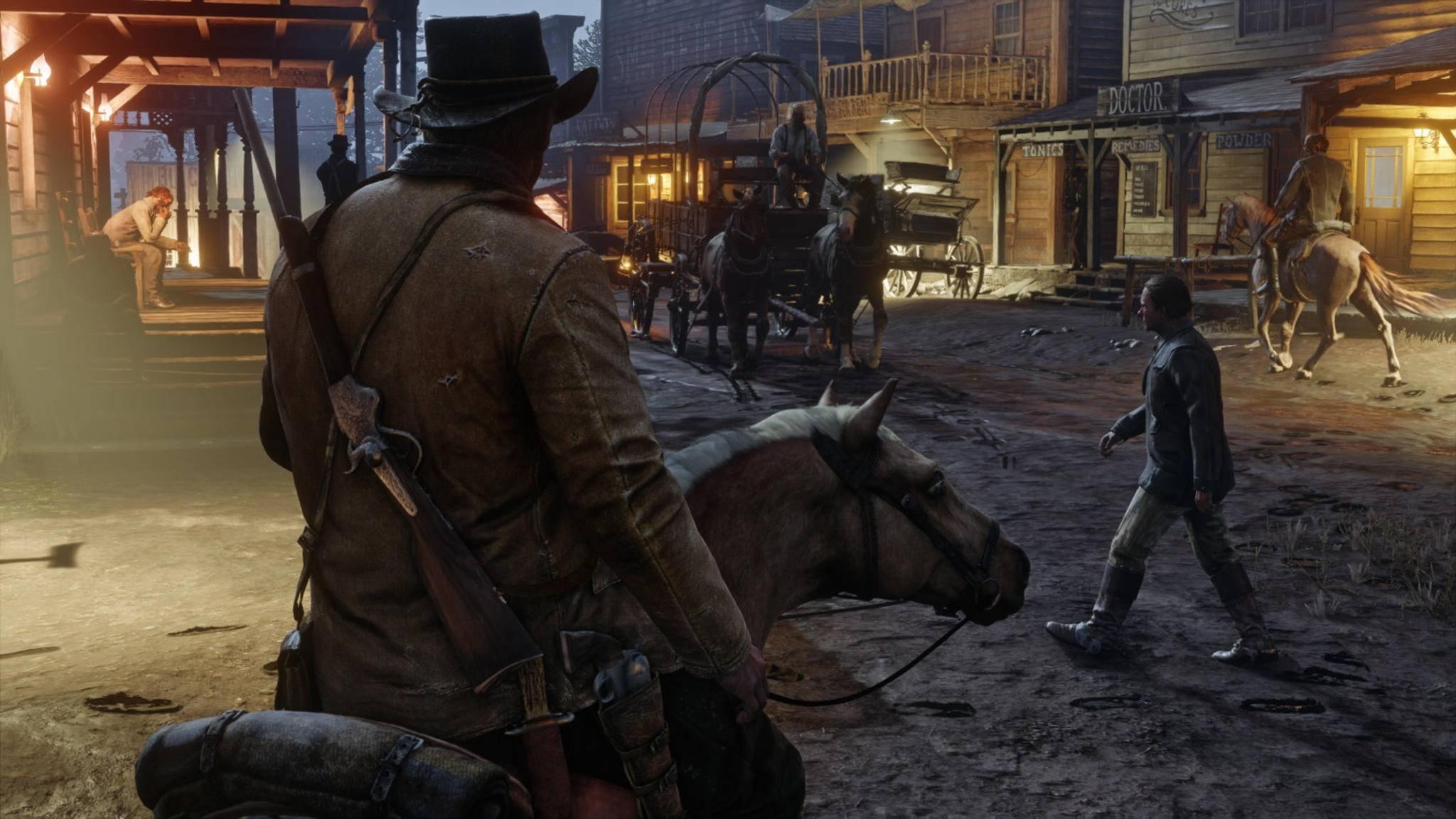 """In """"GTA Online"""" gibt es seit einem neuen Updates Items, die an den Wilden Westen erinnern."""