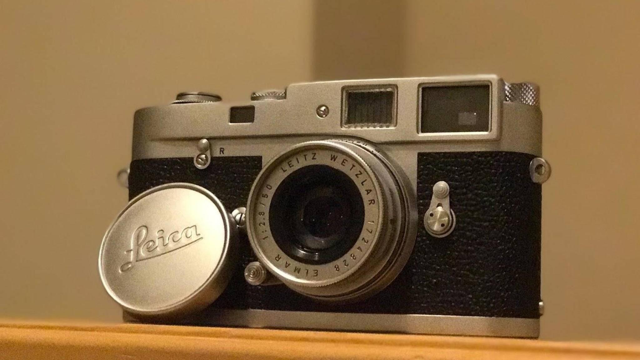 Für eine Leica M2-Kamera zahlte ein Student nur einen Bruchteil ihres Wertes.