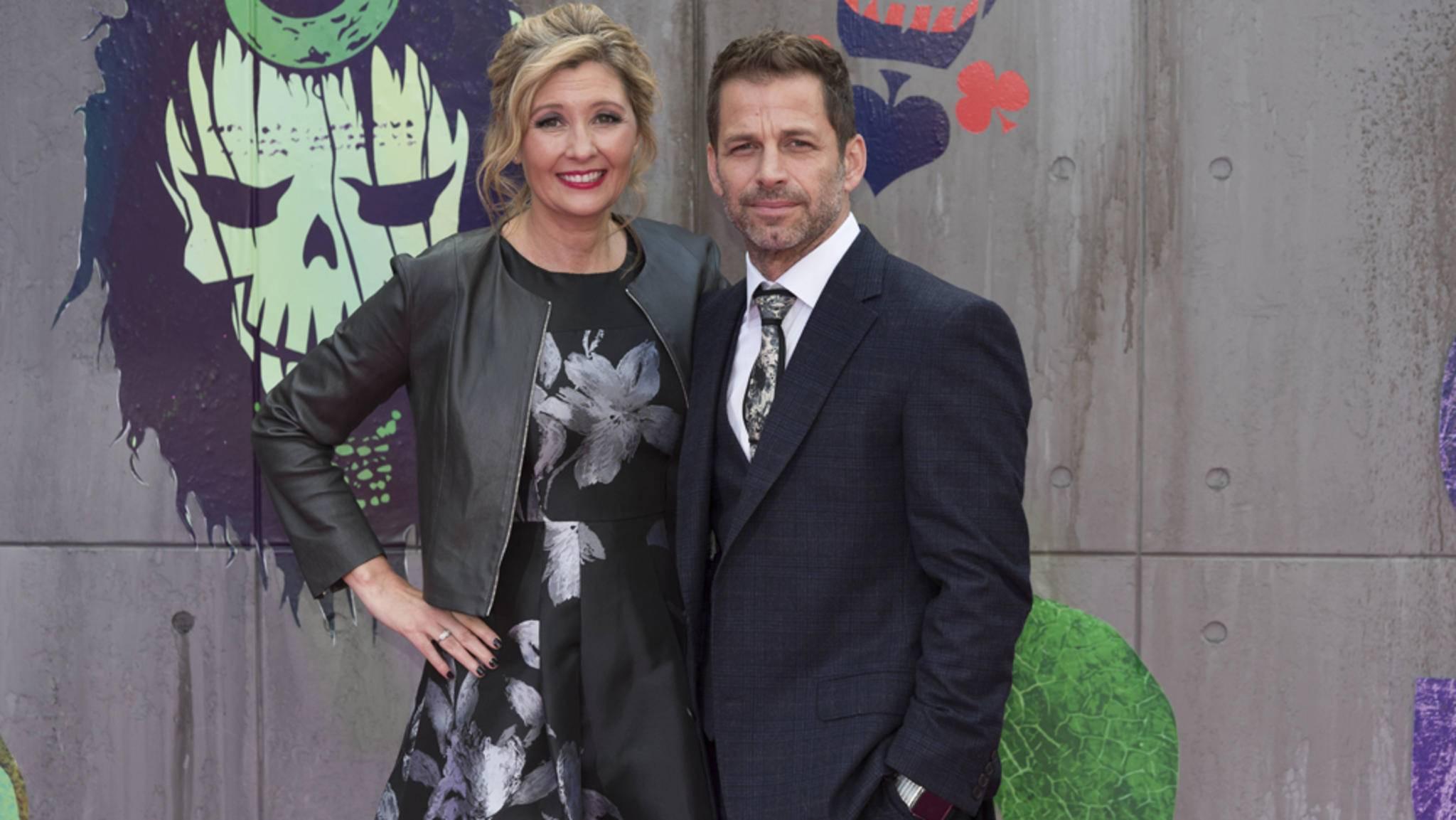 Regisseur Zack Snyder mit Ehefrau Deborah