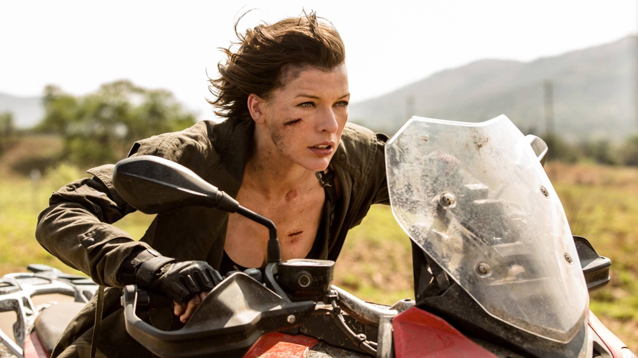 """Im Sci-Fi-Actioner """"Resident Evil"""" gab Milla Jovovich noch die Heldin – für """"Hellboy"""" wechselt sie nun die Seiten."""