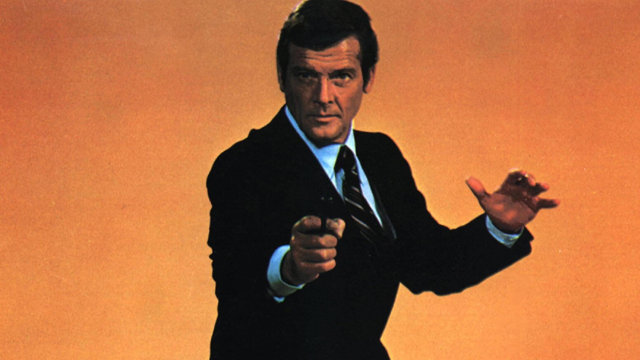 Als Geheimagent James Bond schrieb Roger Moore Geschichte.