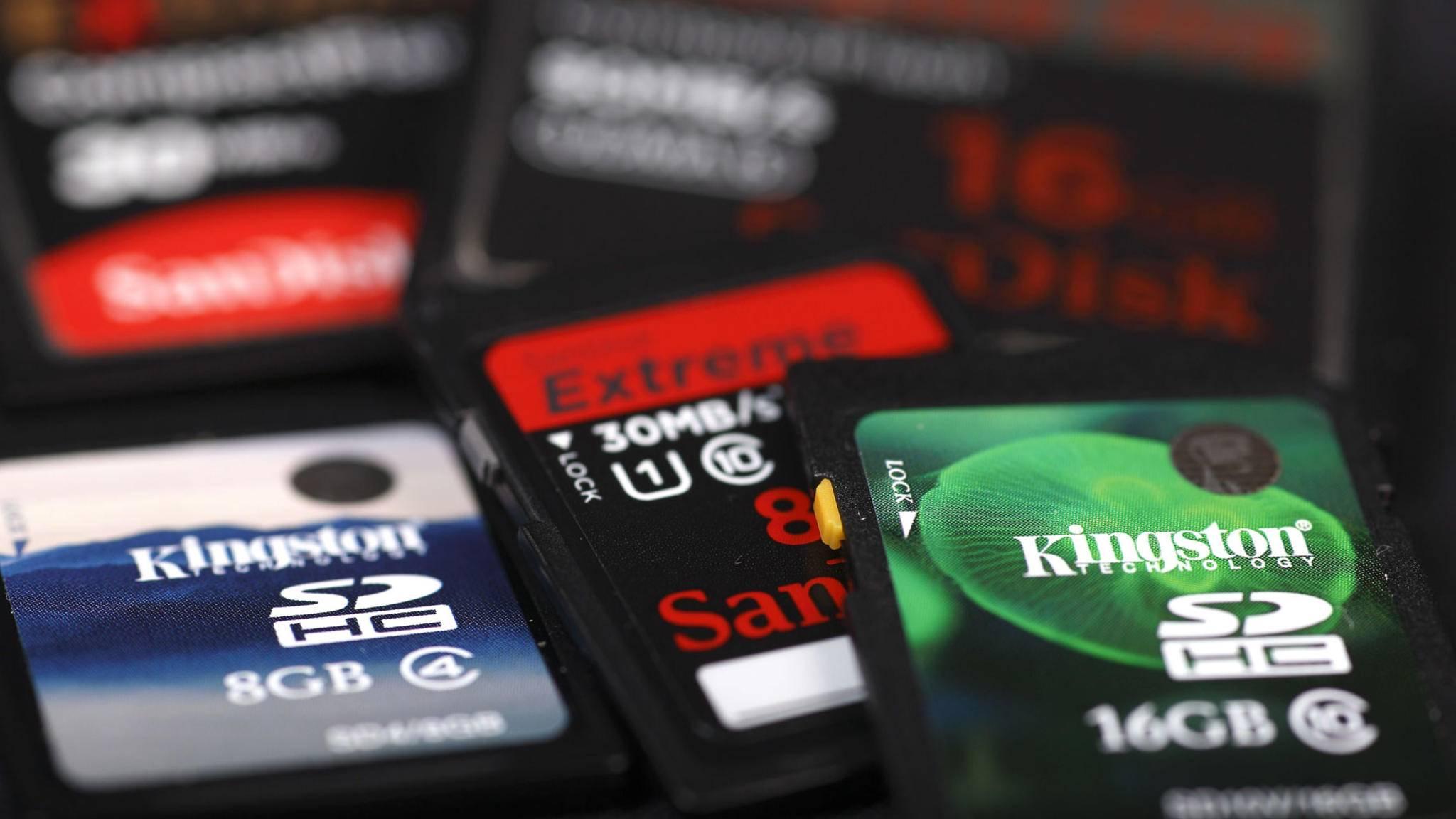 Speicherkarten klonen? Mit kostenlosen Programmen kein Problem.