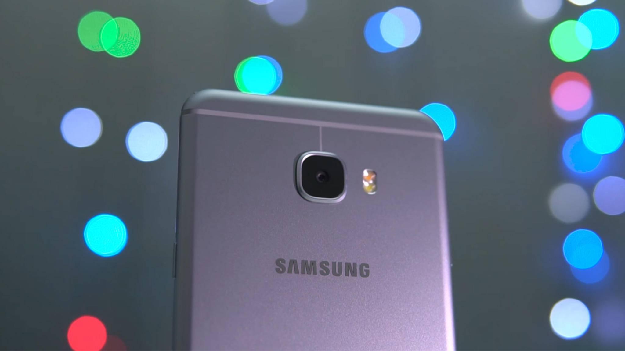Das nächste Modell der Galaxy C-Reihe soll eine Dual-Kamera an Bord haben.