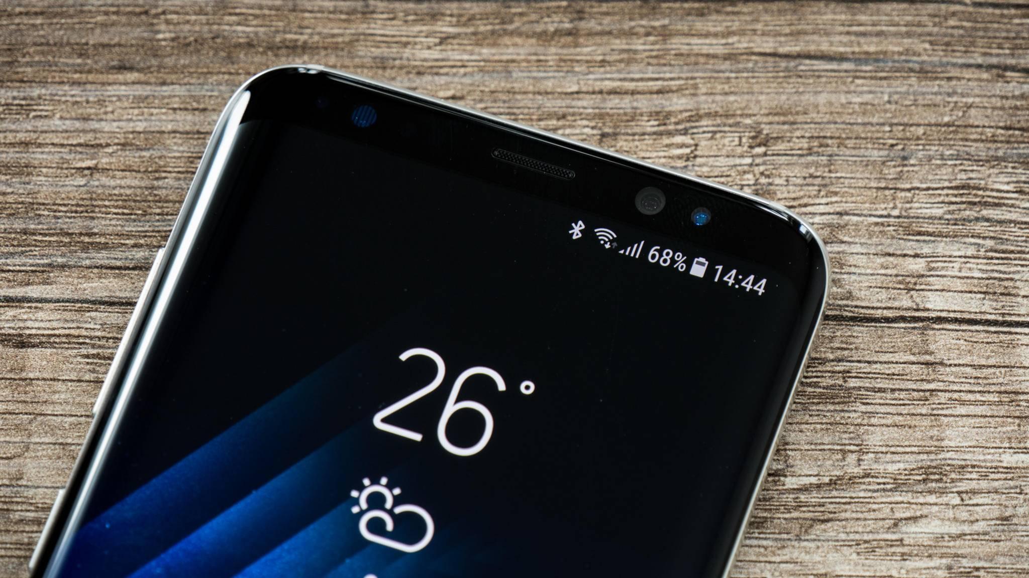 Die Screen-to-Body-Ratio beim Galaxy S9 soll noch einmal höher ausfallen als beim Galaxy S8.
