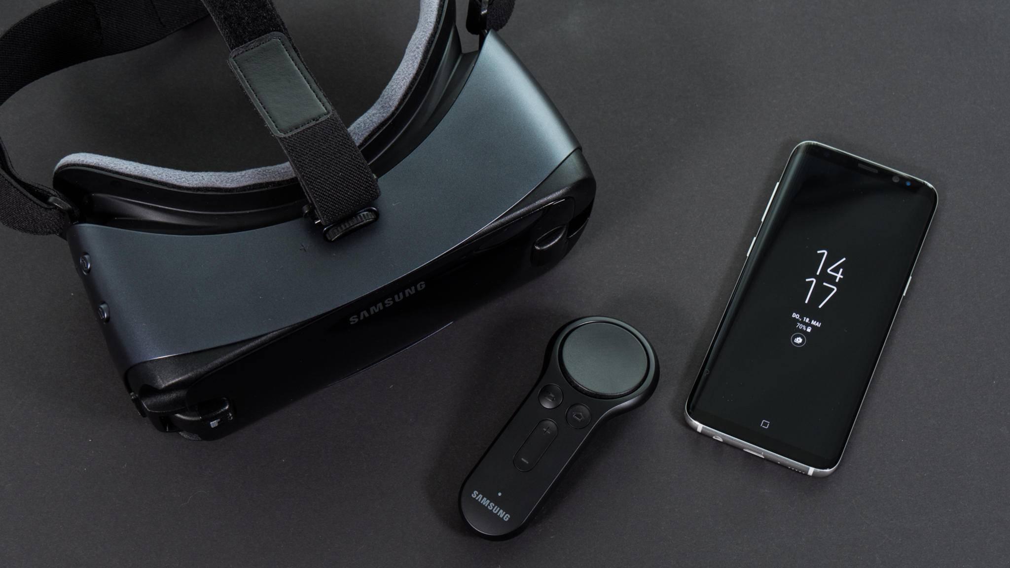 Die Samsung Gear VR ist eine klassische Virtual-Reality-Brille.