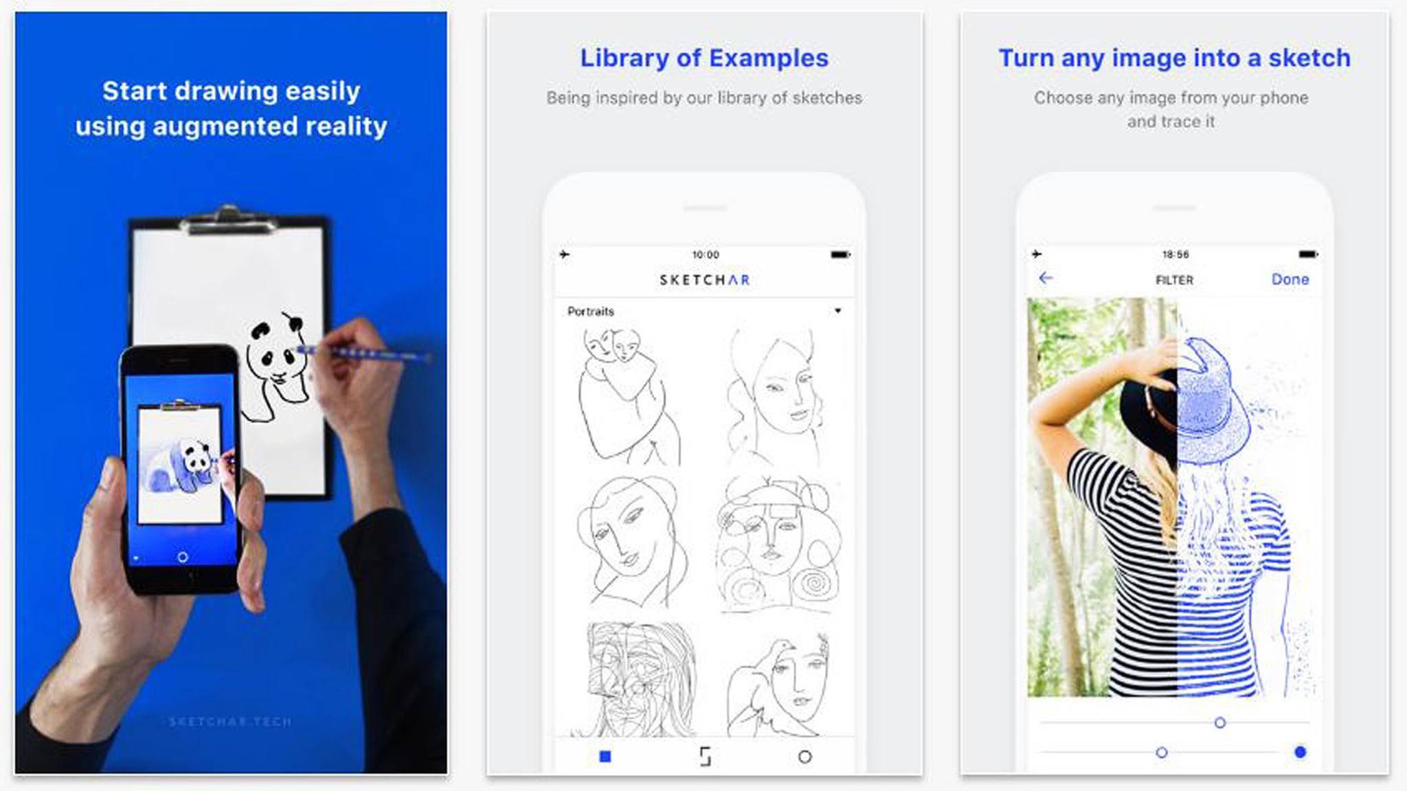 Die Graffiti-App SketchAR macht JEDEN zum Künstler.