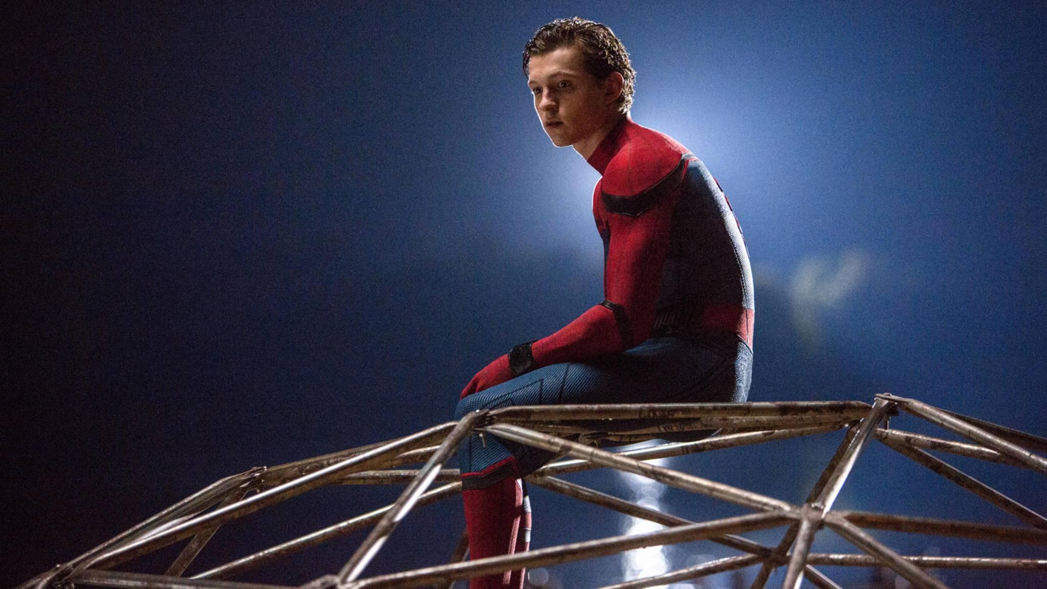 "Absicht oder nicht – Tom Hollands Enthüllungsvideo zum ""Infinity War""-Poster sorgt für Lacher."