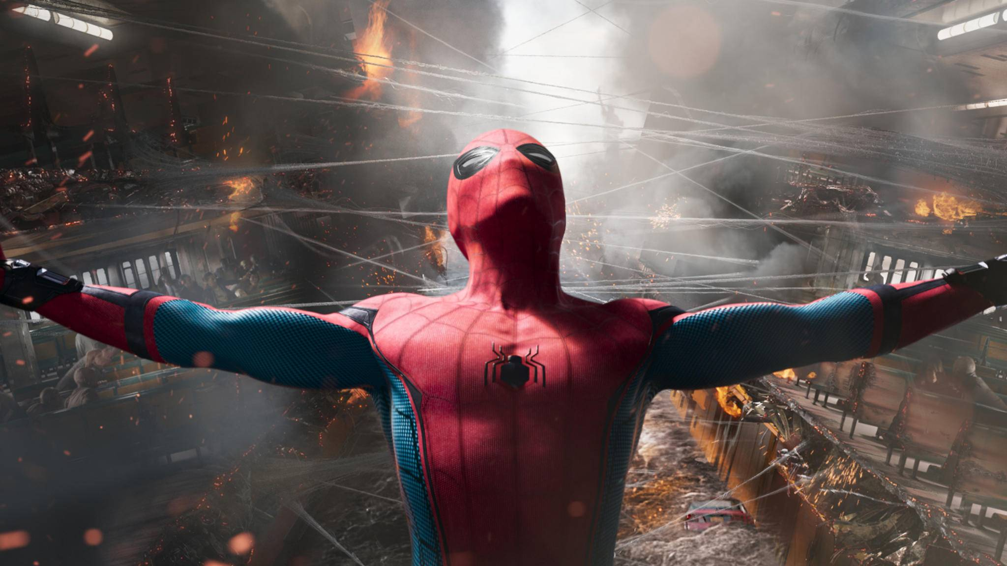 """Neues Material zu """"Spider-Man: Homecoming""""."""