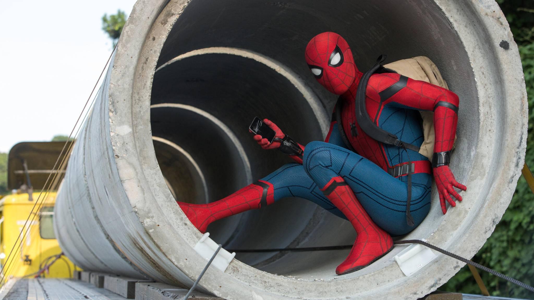 Peter Parker ist zurück – dieses Mal mit Tom Holland in der Rolle des Spinnenmannes.