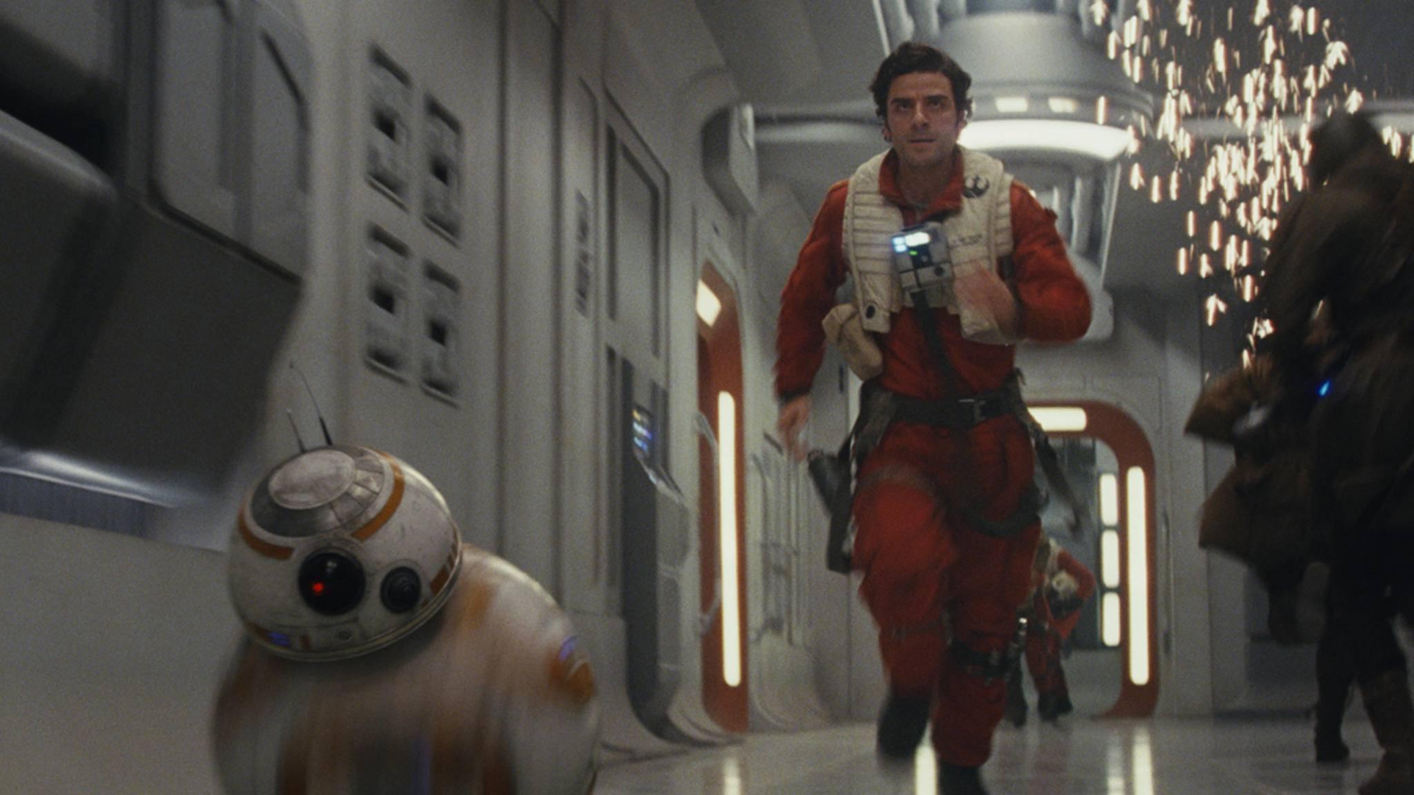 """Nach spätem Start: """"Star Wars: Die letzten Jedi"""" tritt im Rennen um die Oscars 2018 an."""