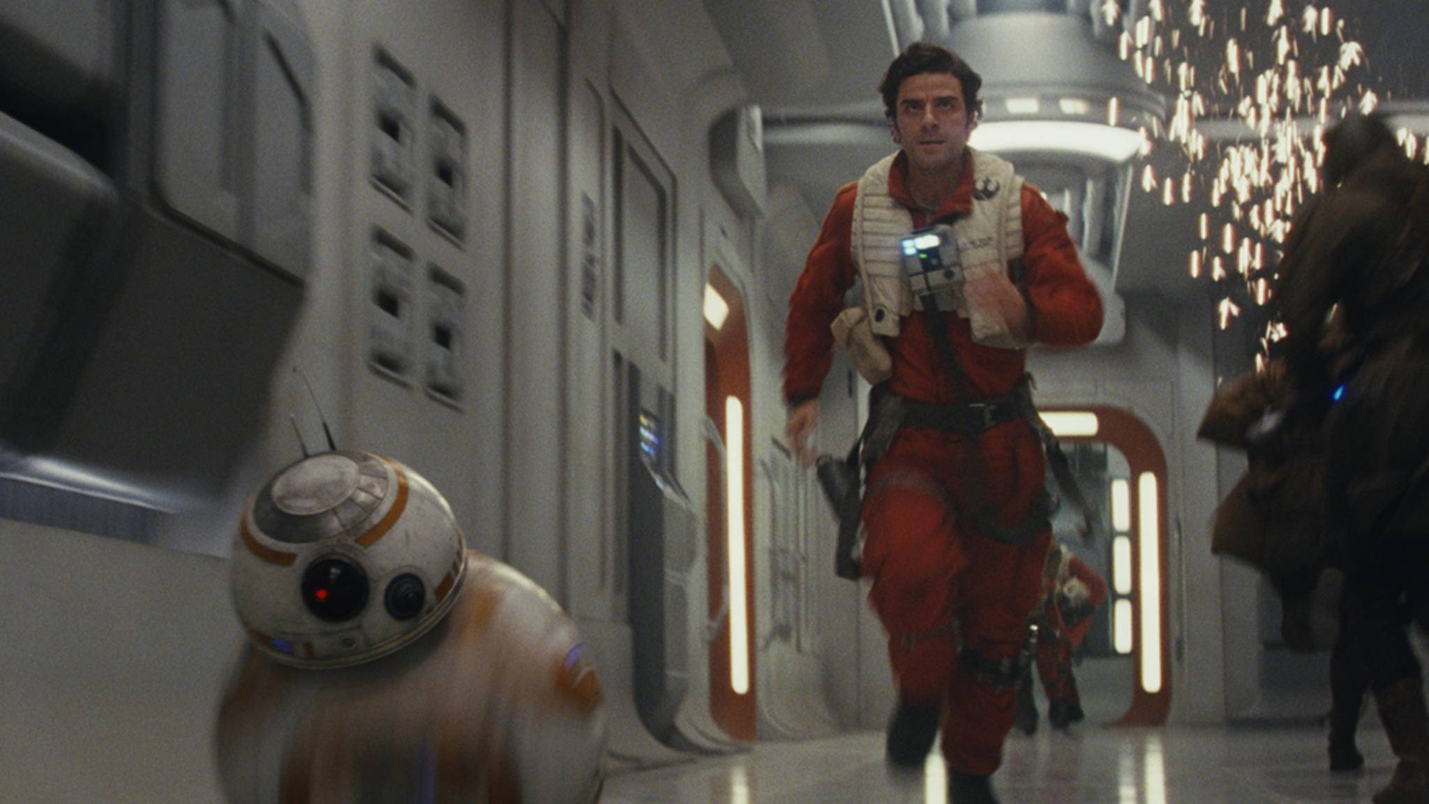 """Auch von diesem Duo wollen wir in """"Star Wars 8"""" mehr sehen: BB-8 und Poe Dameron."""