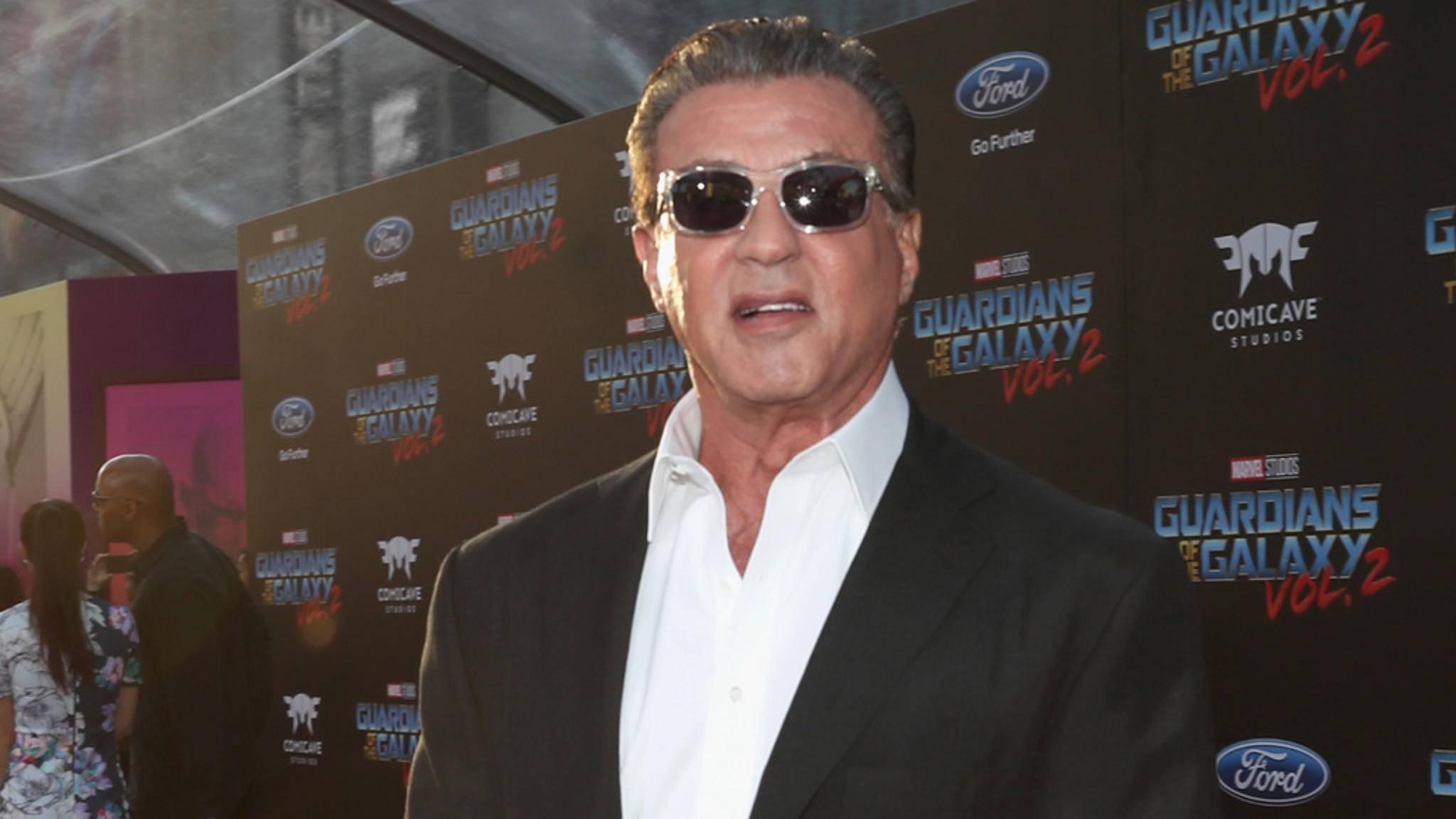Der Spaß an der Arbeit war Sylvester Stallone Lohn genug.