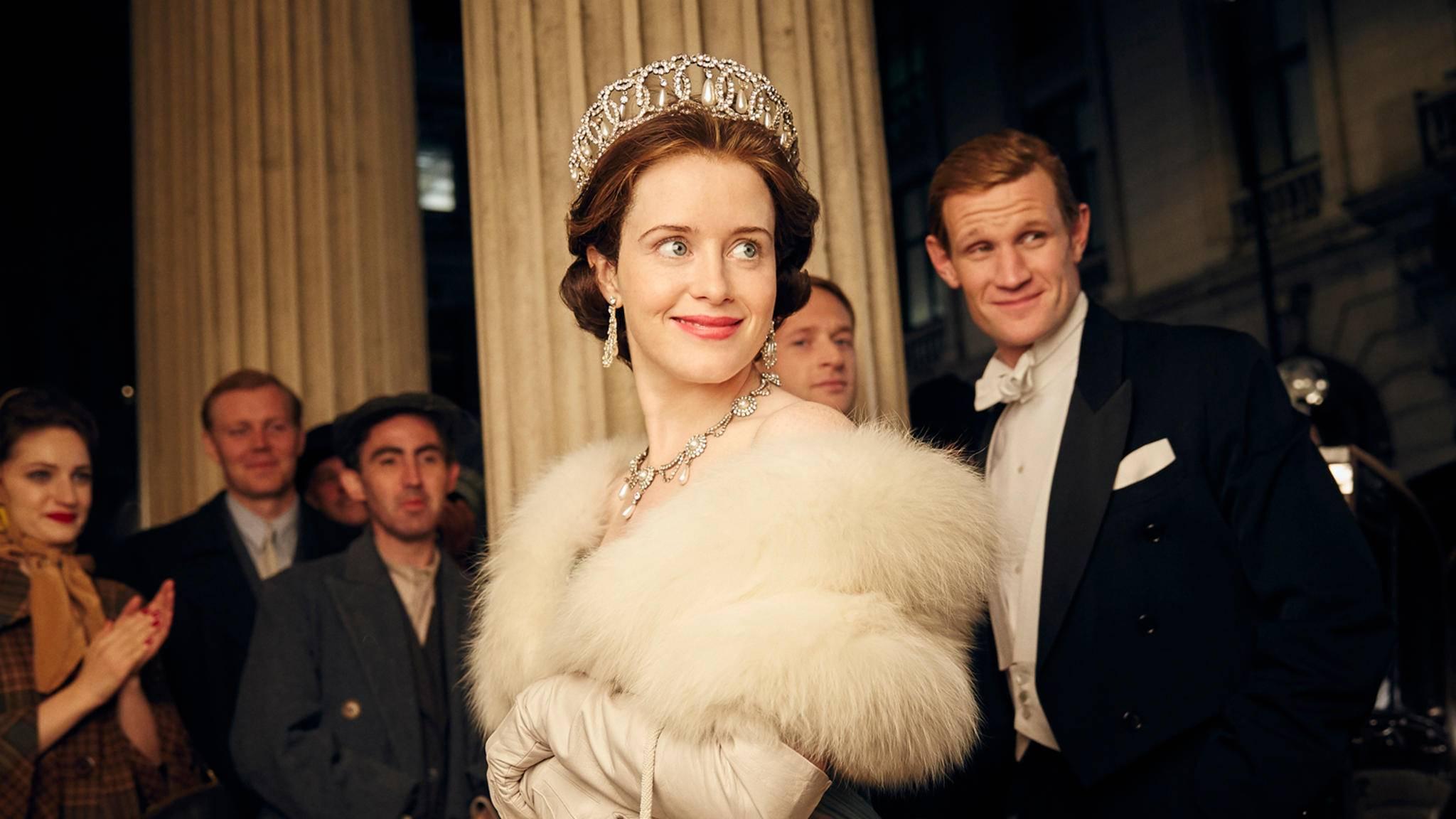"""Die Queen begeistert auch im Serienformat """"The Crown""""."""