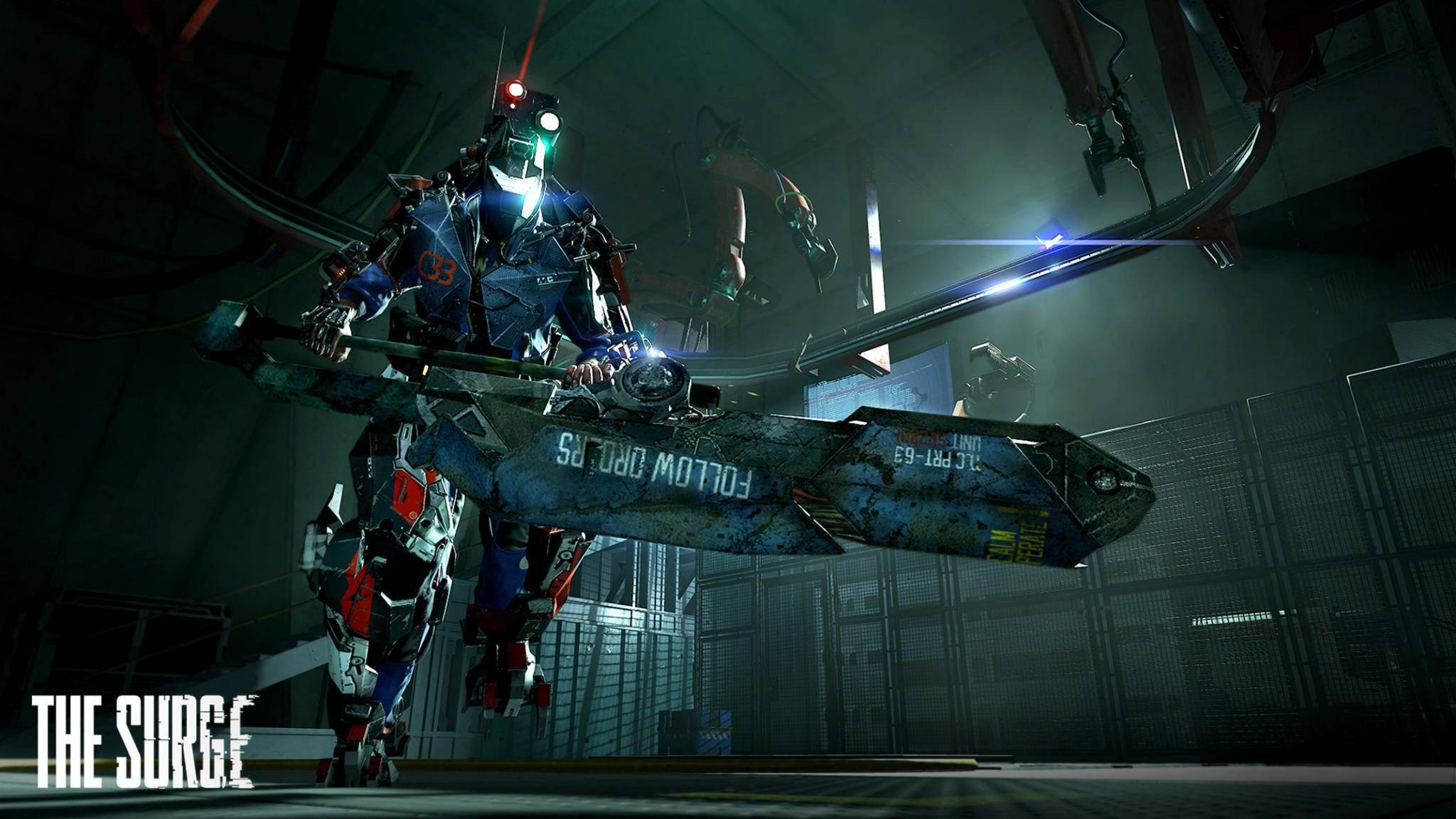 Mit genügend Kernleistung können wir später zum imposanten Cyborg werden.