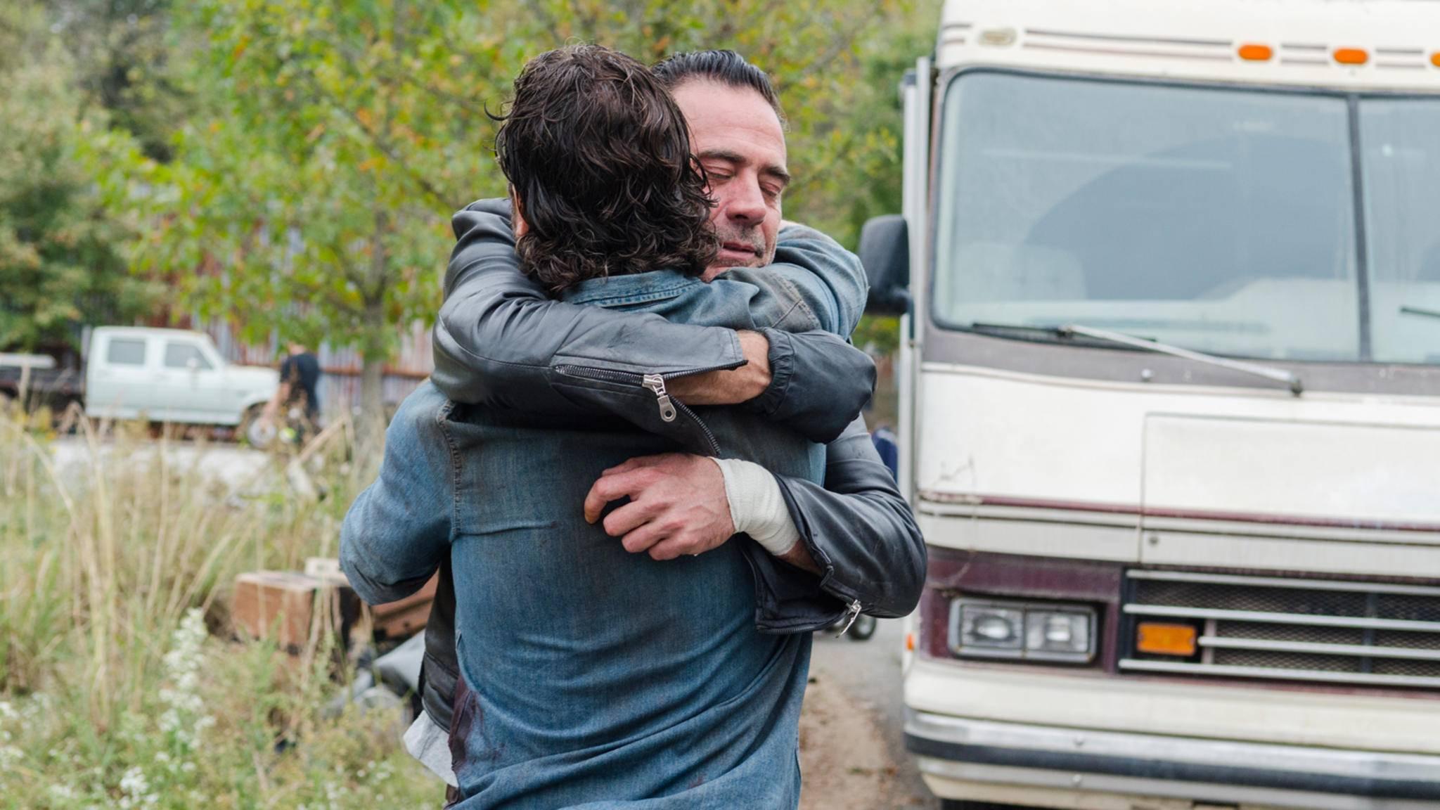 """Nicht nur die Fans von """"The Walking Dead"""" freuen sich, dass Staffel 8 wie geplant starten kann."""