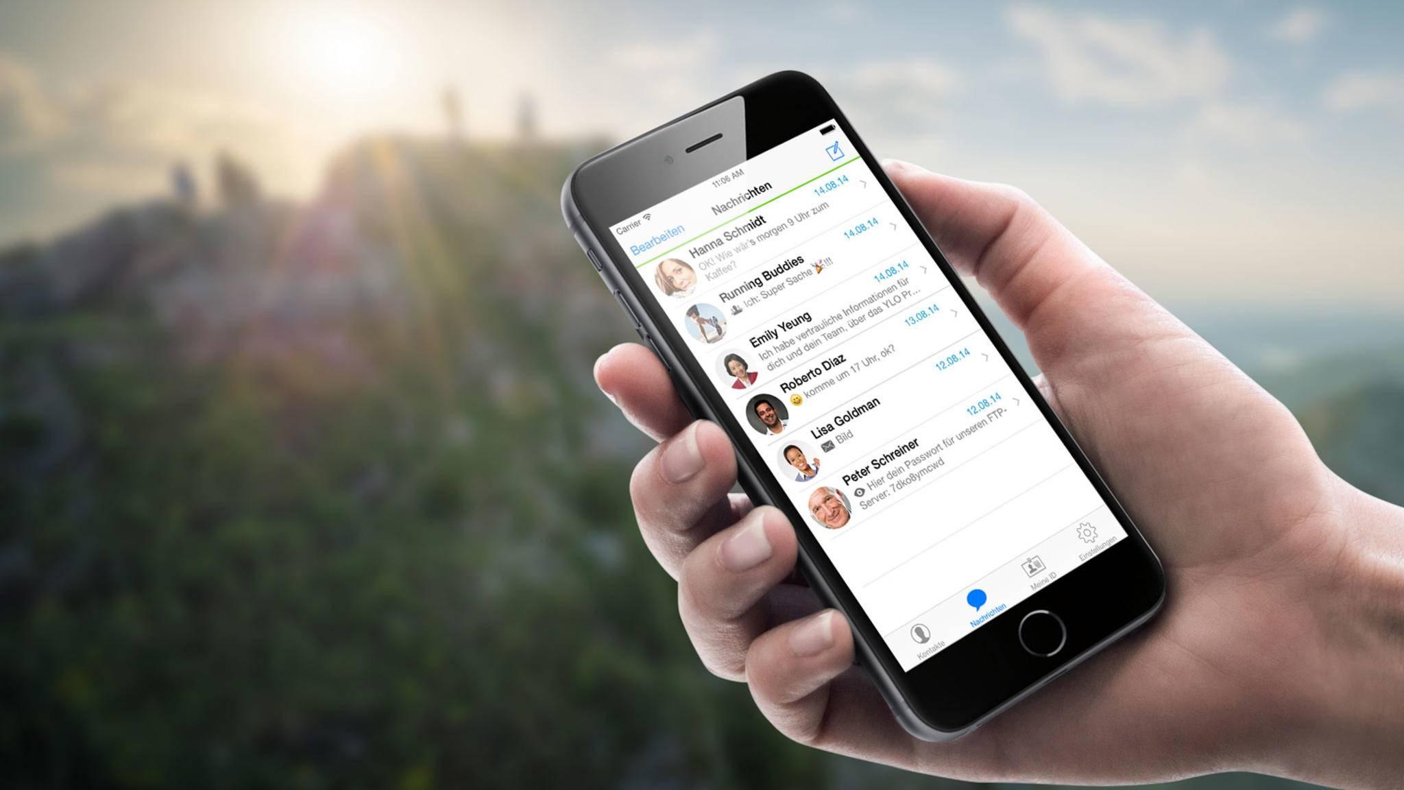 Threema ist nur eine der vielen Alternative zu WhatsApp.