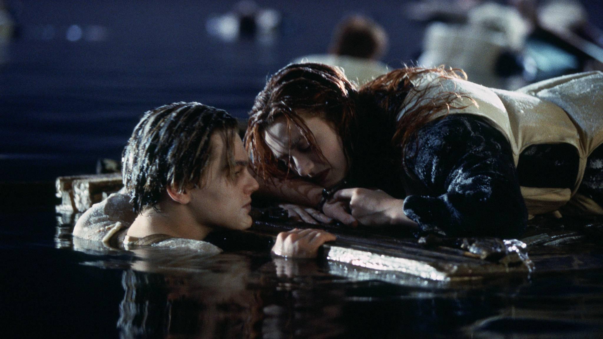 """Die gemeinsame Zukunft von Jack und Rose fand in """"Titanic"""" ein jähes Ende."""