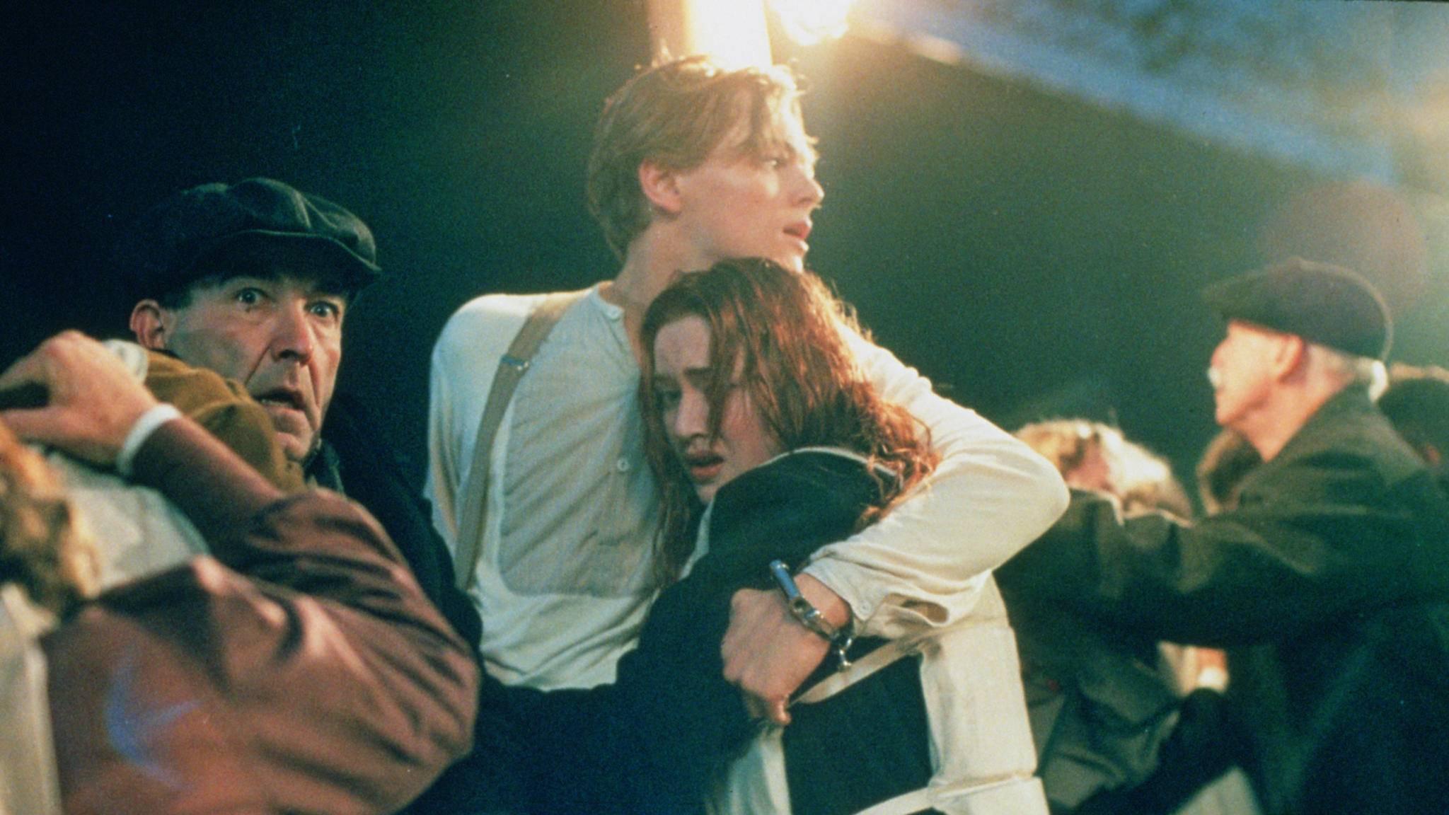 """Jack Dawsons (Leonardo DiCaprio) Schicksal in """"Titanic"""" wird zum Streitfall vor Gericht."""