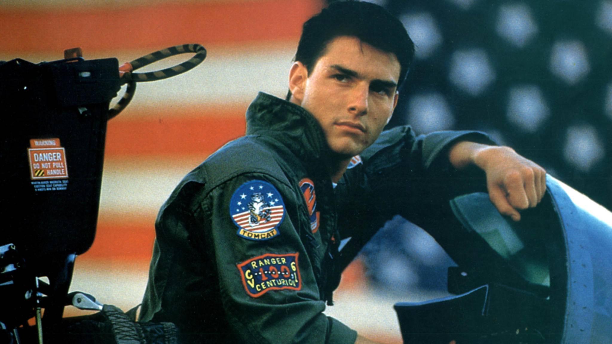 """Tom Cruise hebt in """"Top Gun 2"""" unter Regie von Joseph Kosinski ab."""