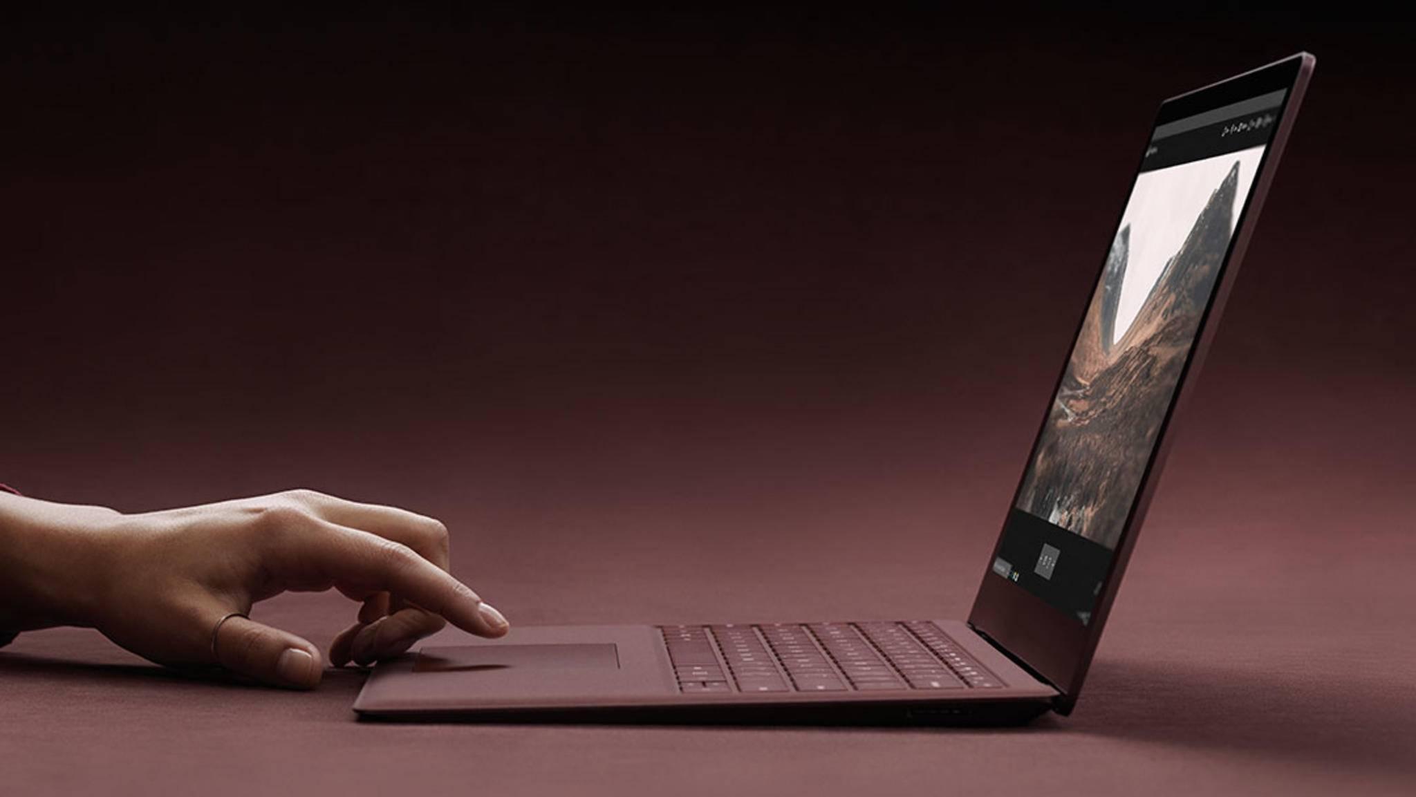 Der Surface Laptop ist der erste Rechner mit Windows 10 S.