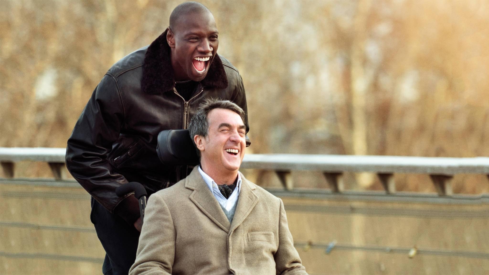 """Nicht nur am Weltlachtag sorgt die Komödie """"Ziemlich beste Freunde"""" für gute Laune."""