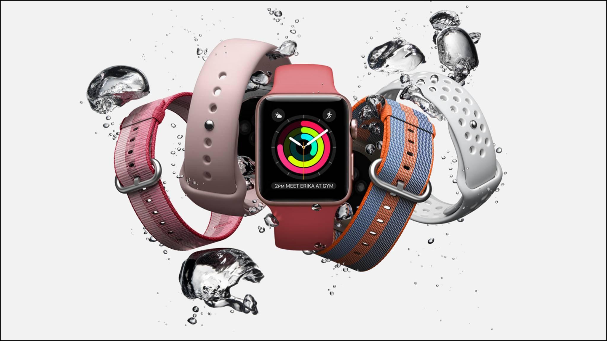 Bei der Apple Watch 3 gibt es im Gegensatz zum Vorgänger wohl eine LTE-Option.