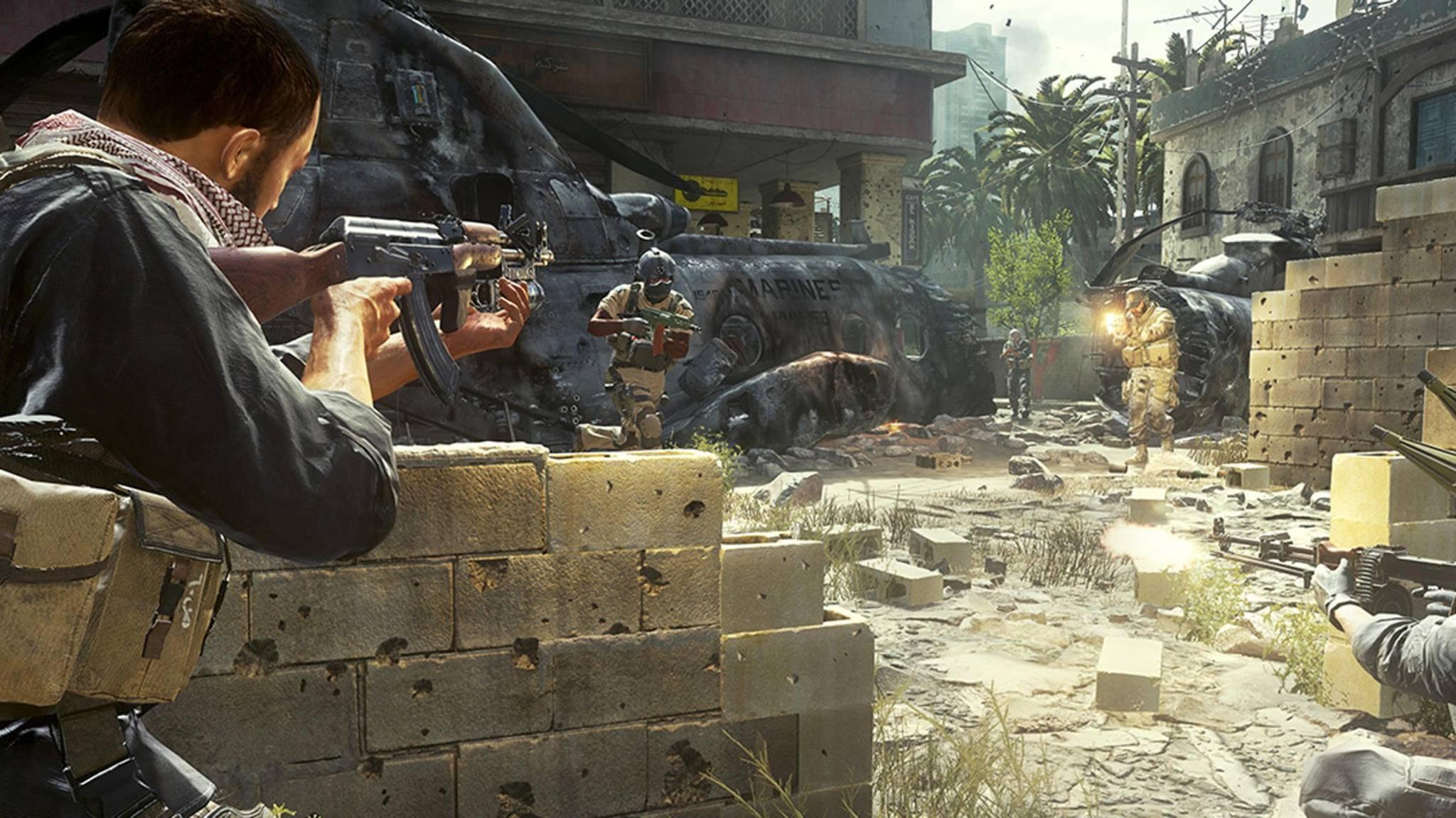 Call of Duty Modern Warfare-Remastered
