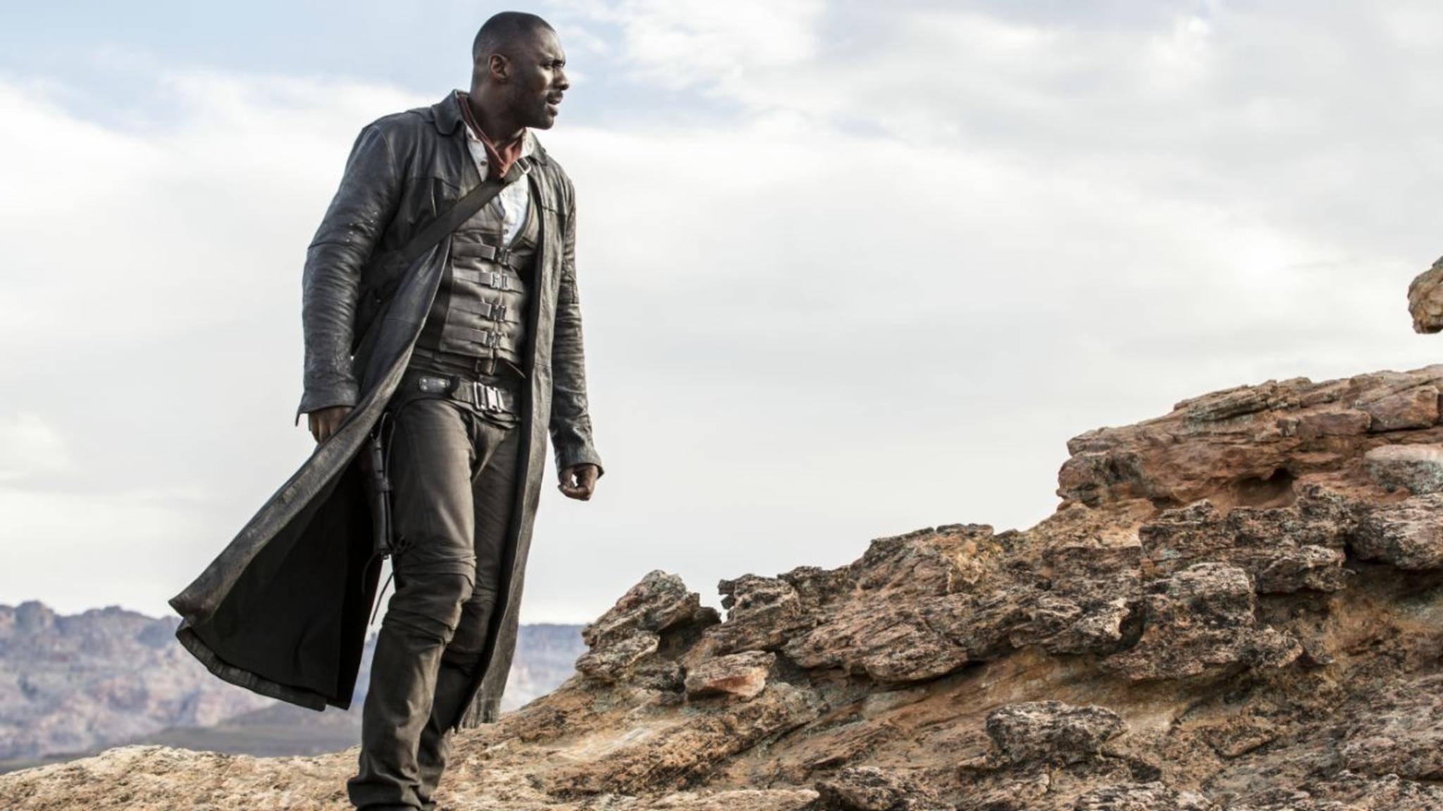 """Idris Elba spielt in """"Der Dunkle Turm"""" den letzten Revolverhelden – aber sicherlich nicht den ersten."""