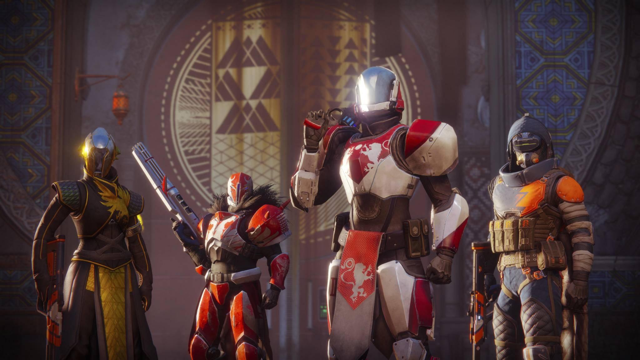 """Treue """"Destiny""""-Spieler dürfen in """"Destiny 2"""" mit exklusiven Emblemen glänzen."""