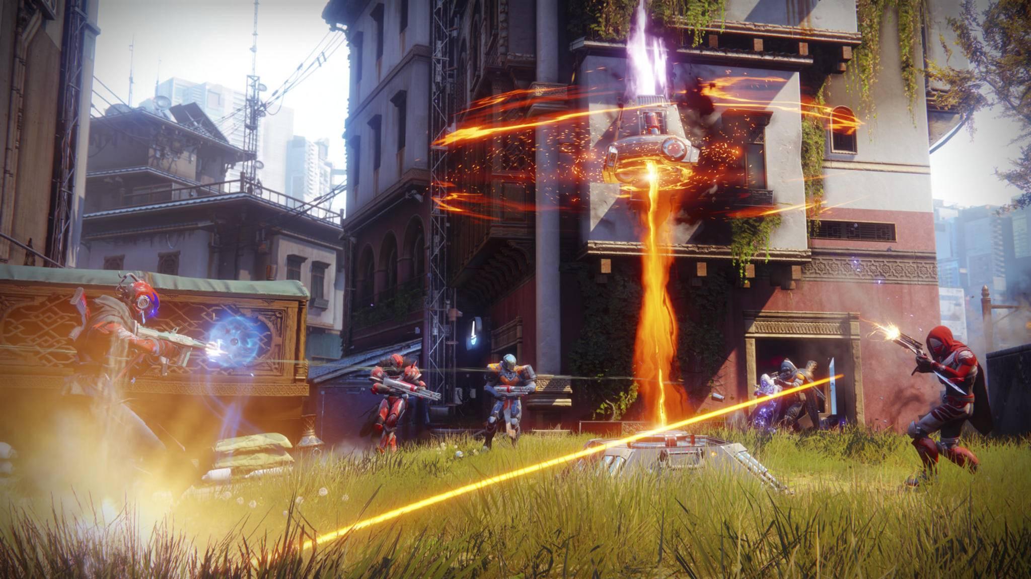 """Für ungebremste Performance sollten """"Destiny 2""""-Fans zur PC-Version des Games greifen."""