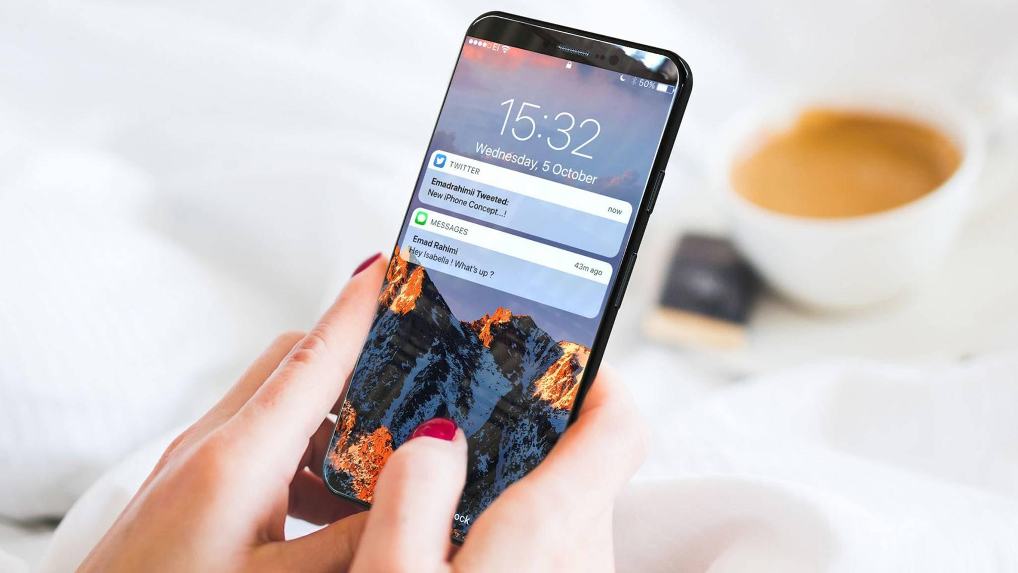 Das iPhone 8 wird kein so schnelles mobiles Internet bieten wie etwa das Galaxy S8.