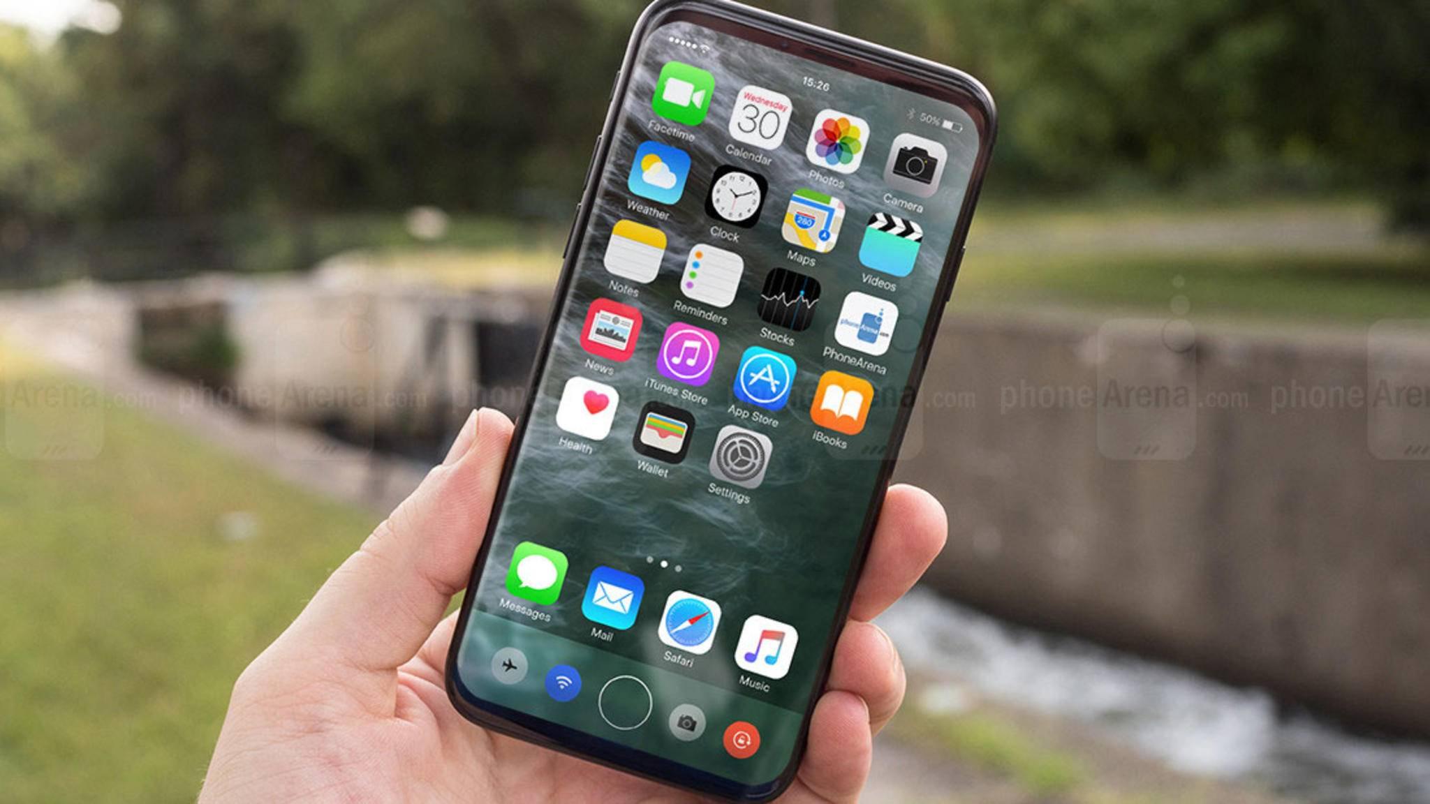 Am 22. September werden die ersten Käufer das iPhone 8 vermutlich in Händen halten dürfen.