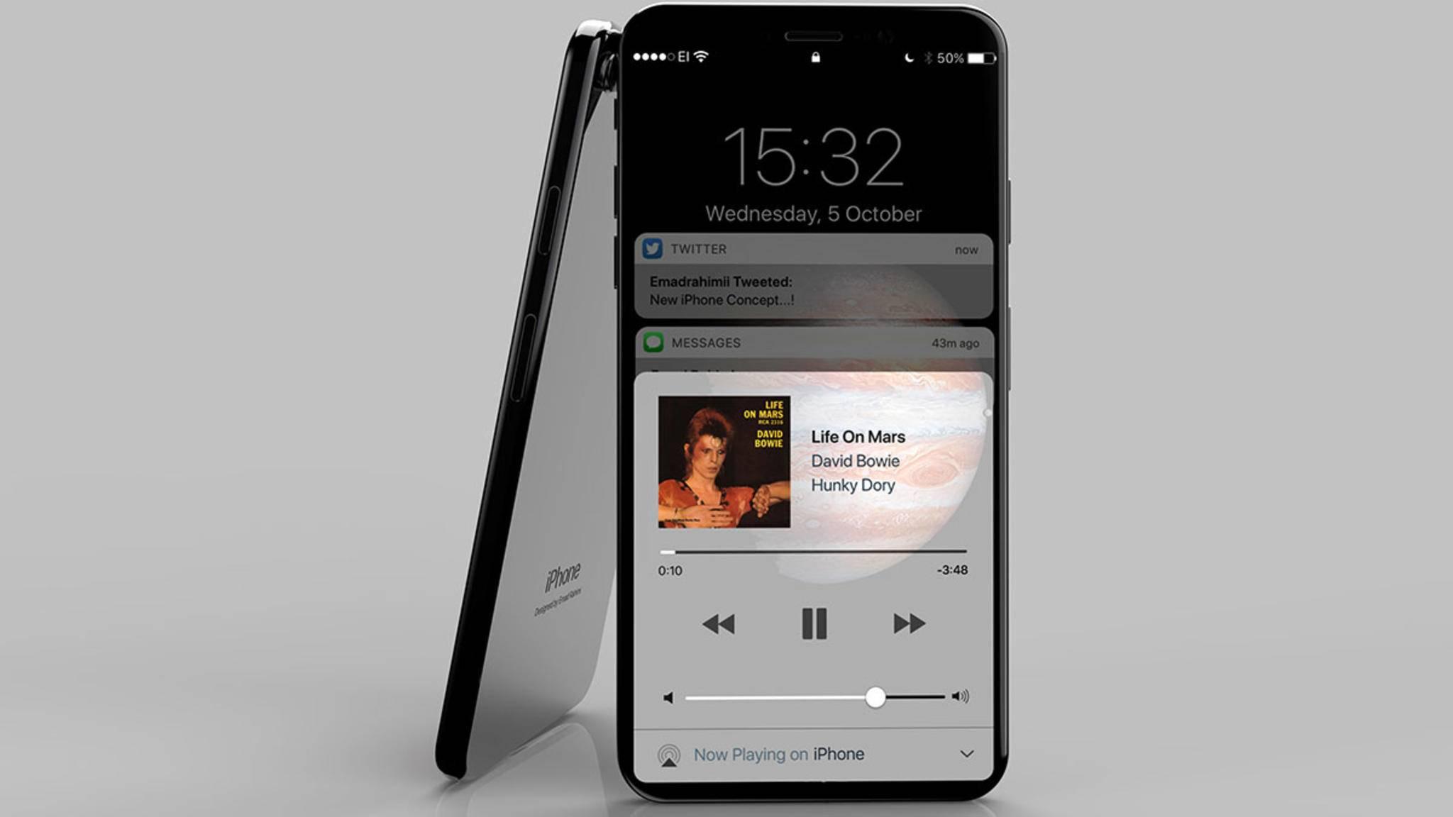 Das iPhone 8 könnte sich verschieben.
