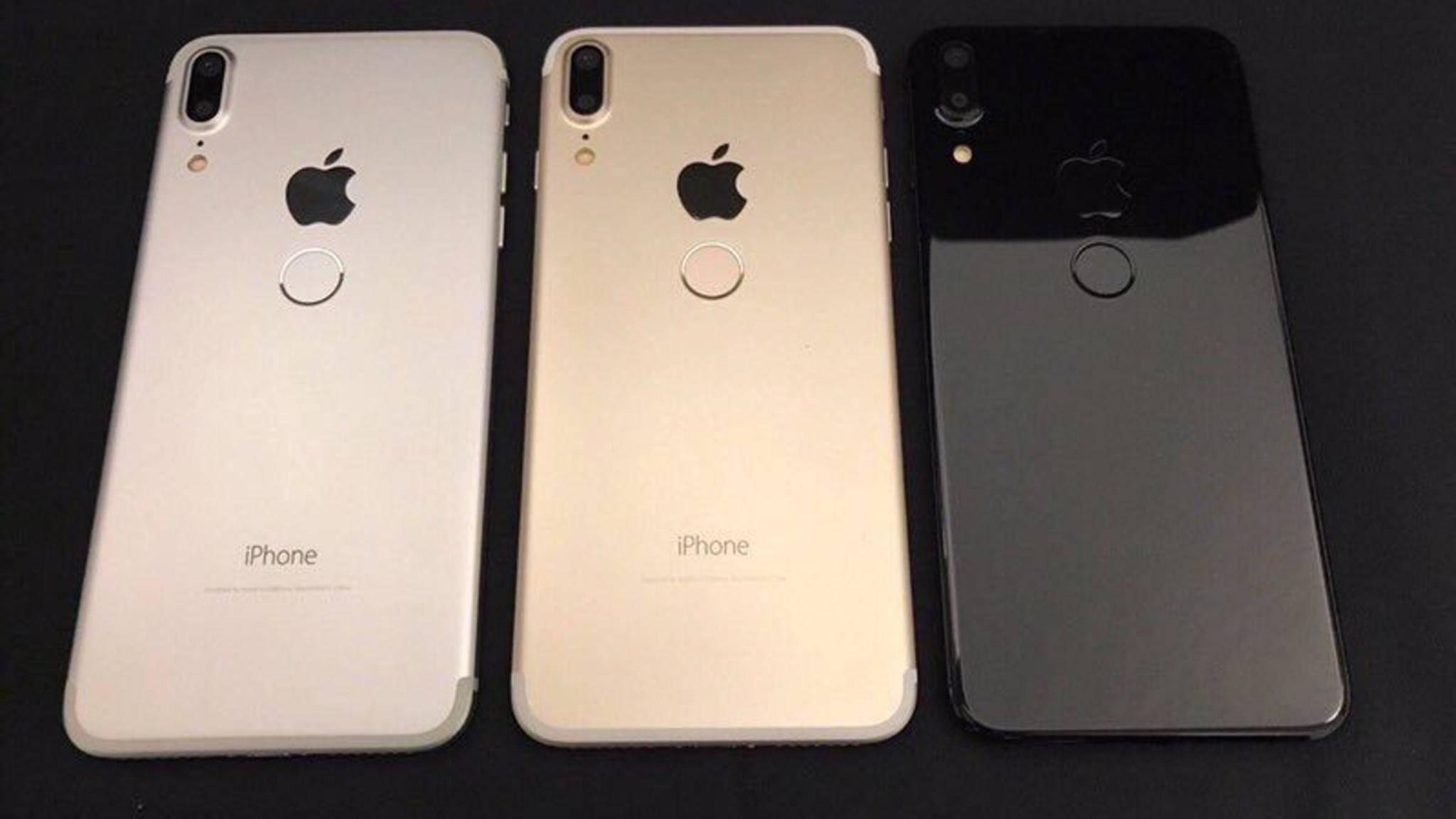 Muss Apple beim iPhone 8 den Fingerabdruckscanner auf die Rückseite verschieben?