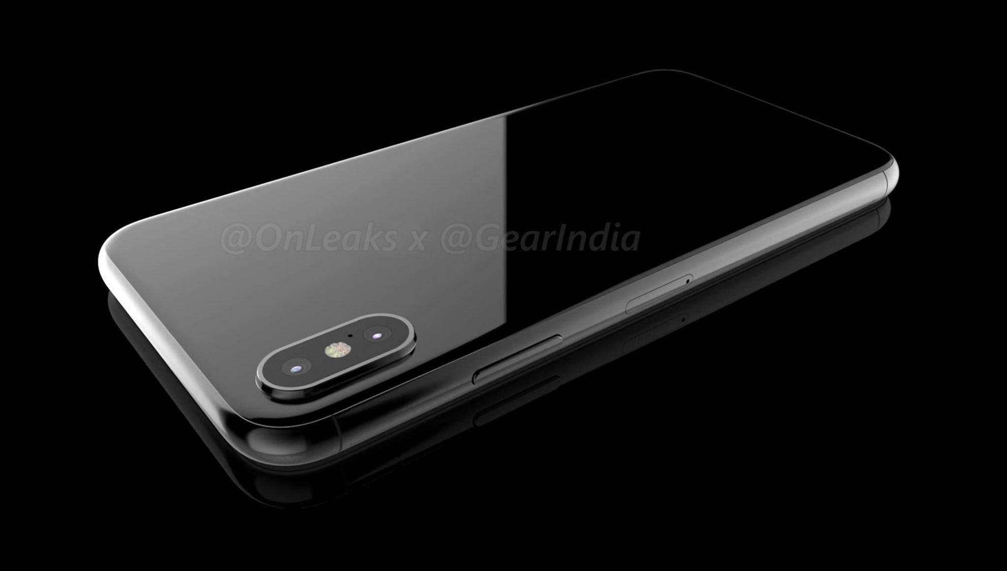 Glasdesign, Edelstahlrahmen und vertikale Dual-Kamera: So könnte das iPhone 8 aussehen.