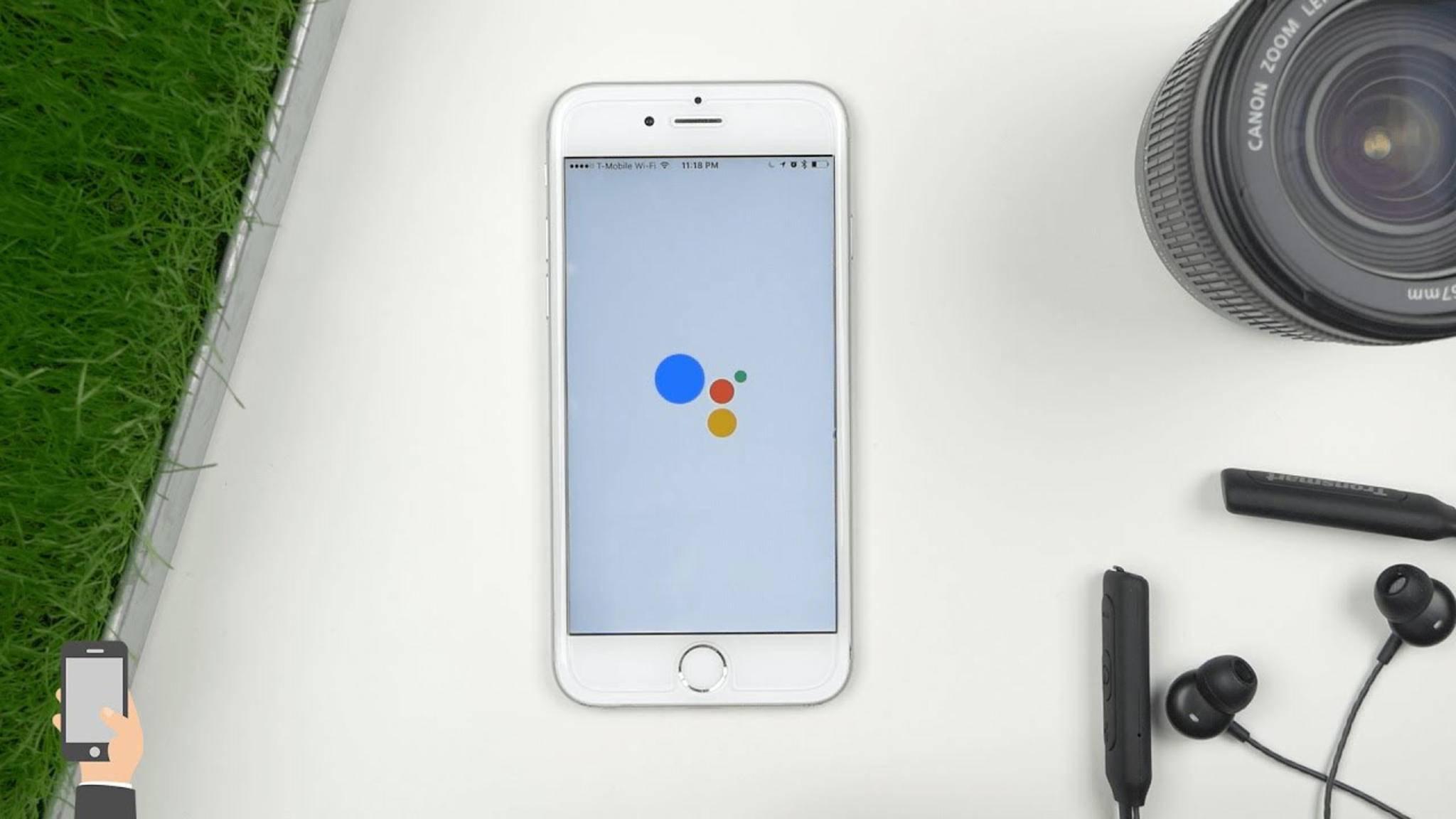 Wir verraten, wie Du den Google Assistant auf Deinem iPhone nutzen kannst – noch vor dem offiziellen Deutschland-Start.