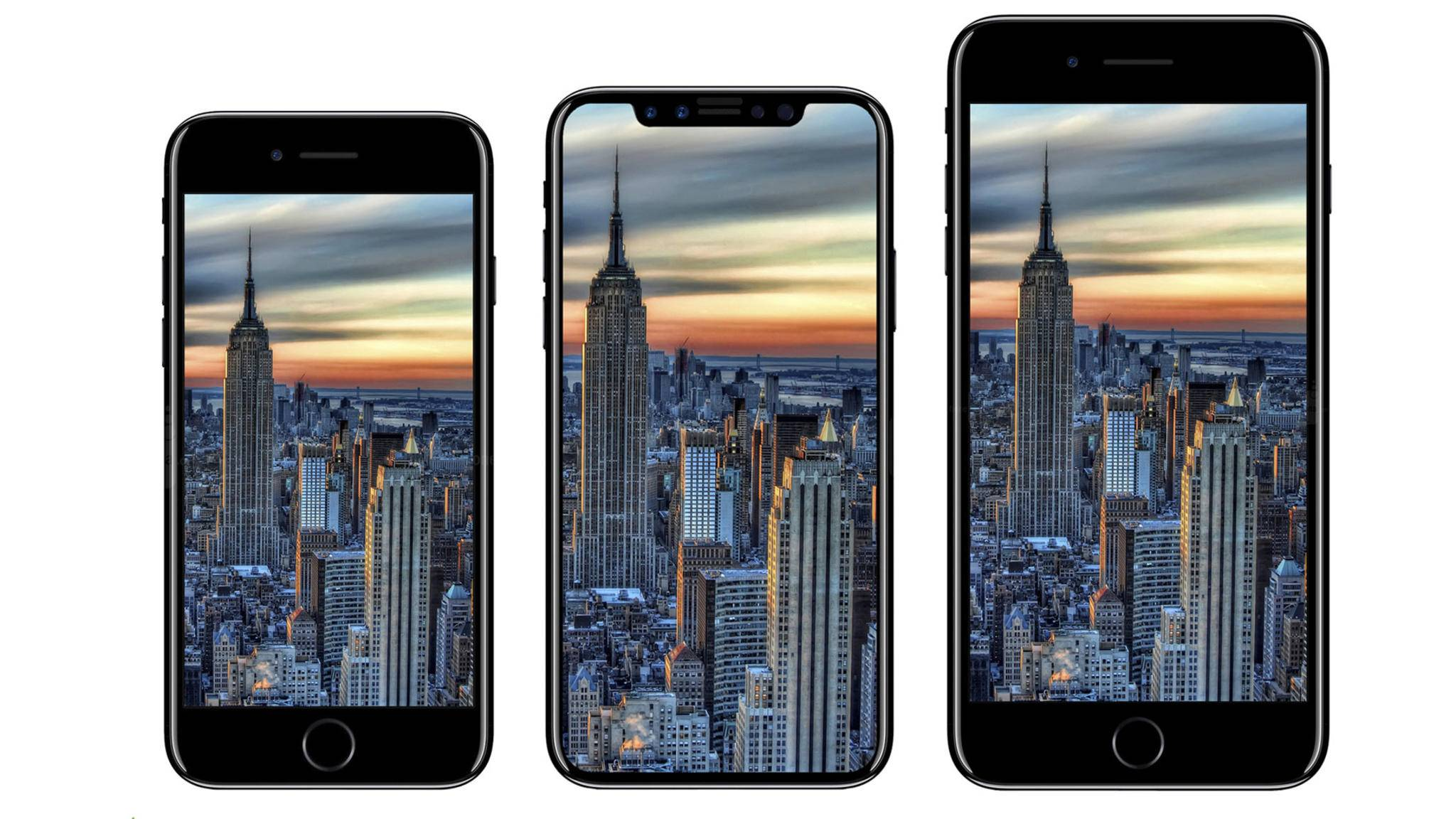 Die Produktion der iPhone-8-Teile scheint allmählich zu starten.