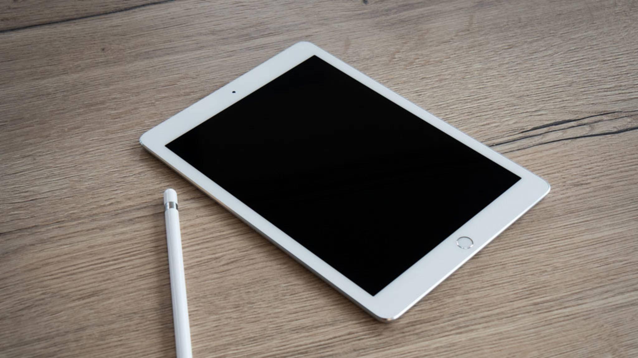 Das kannst Du tun, wenn das iPad-Display einfach dunkel bleibt.
