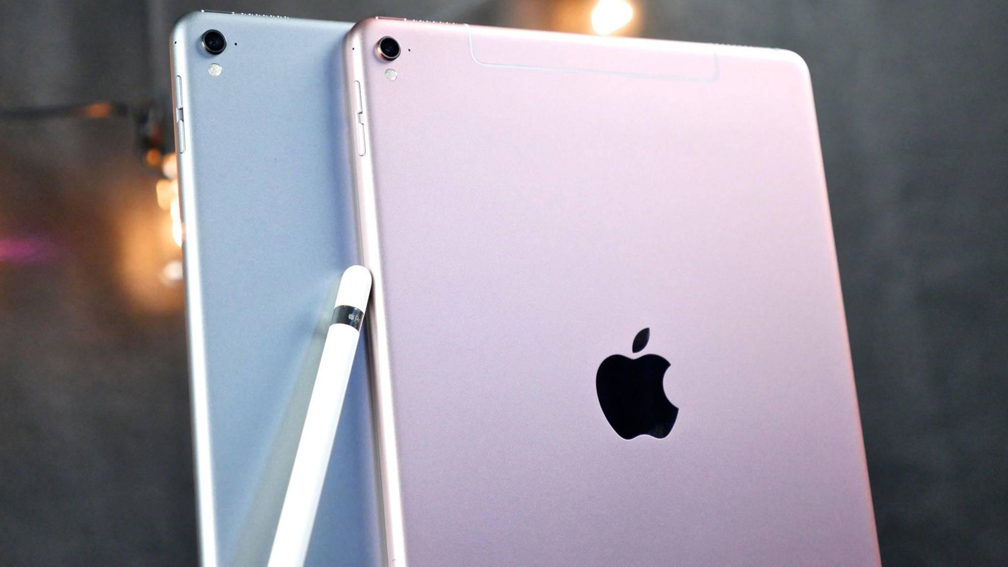 Das iPad Pro mit 10,5 Zoll könnte einen ähnlichen Formfaktor wie das iPad Pro 9,7 besitzen.